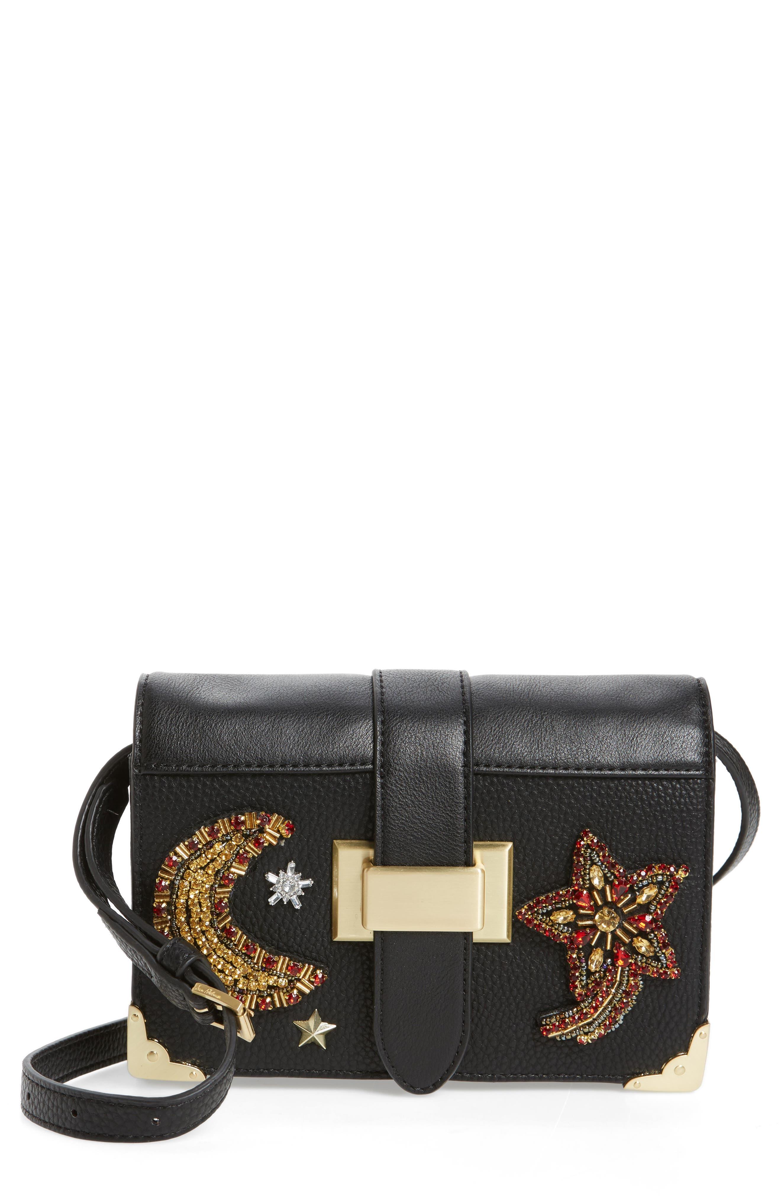 Florence Faux Leather Clutch Wallet,                             Main thumbnail 1, color,                             001