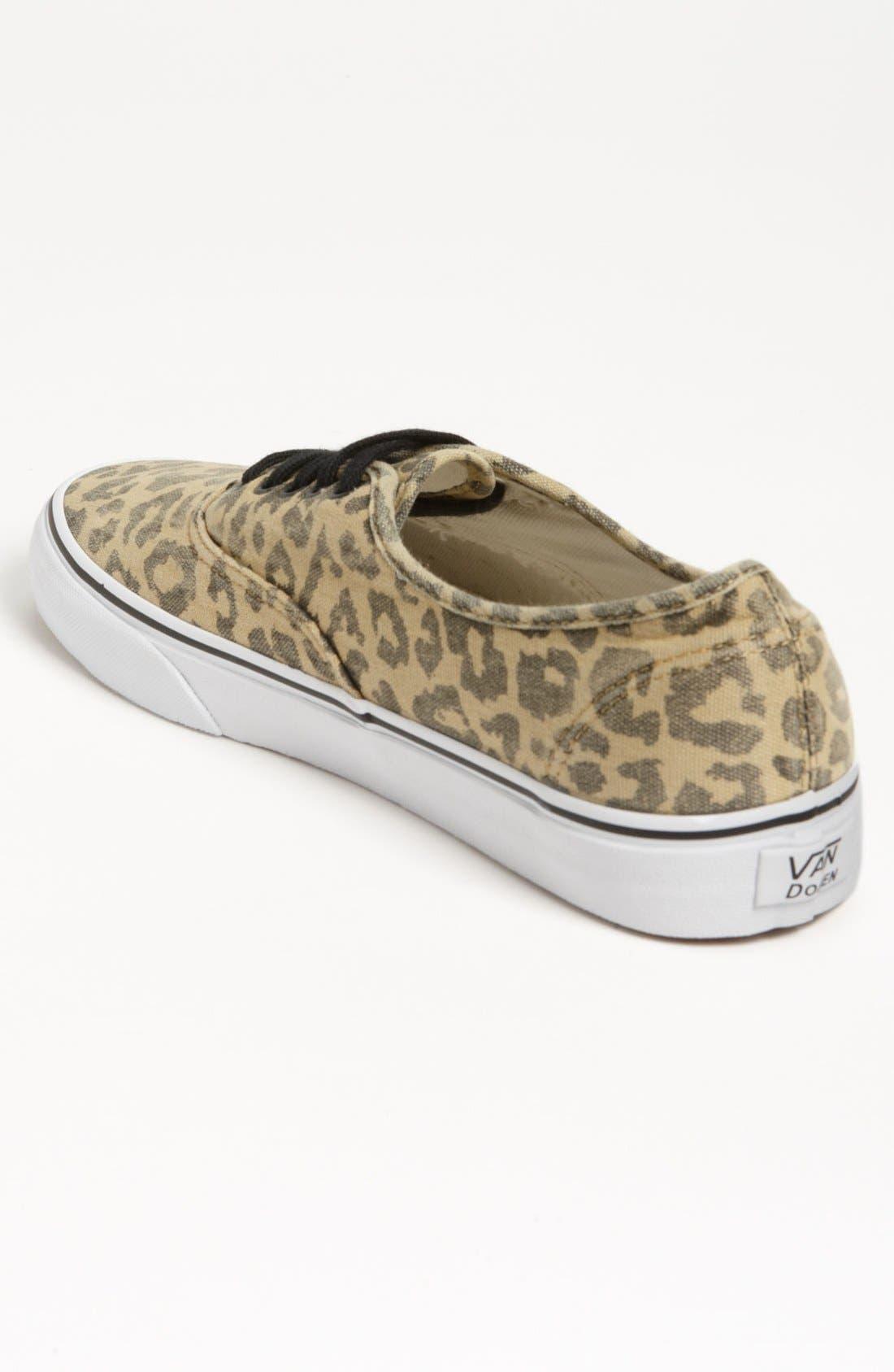 VANS,                             'Van Doren - Authentic' Sneaker,                             Alternate thumbnail 2, color,                             001