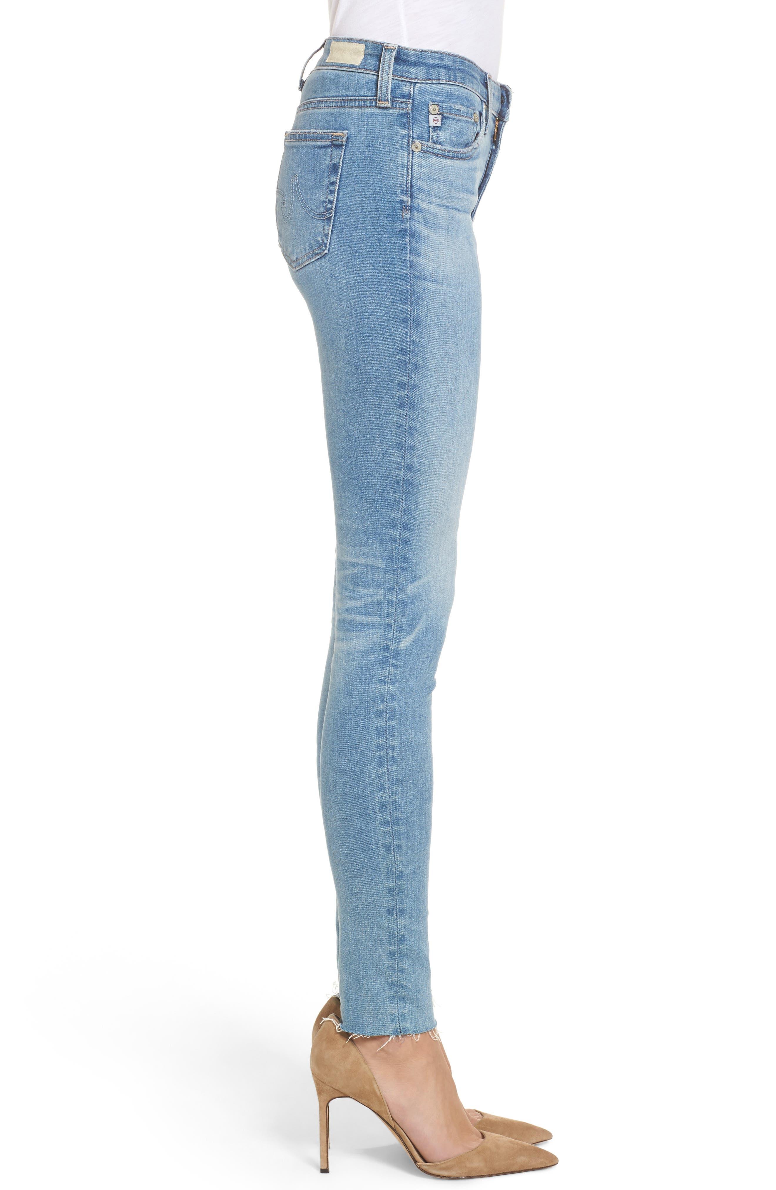 The Legging Super Skinny Jeans,                             Alternate thumbnail 3, color,