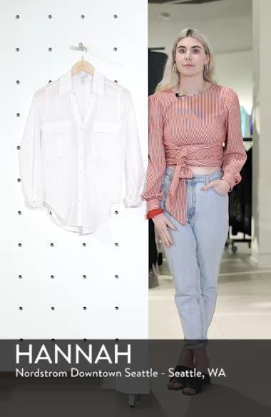 Shadow Stripe Shirt, sales video thumbnail