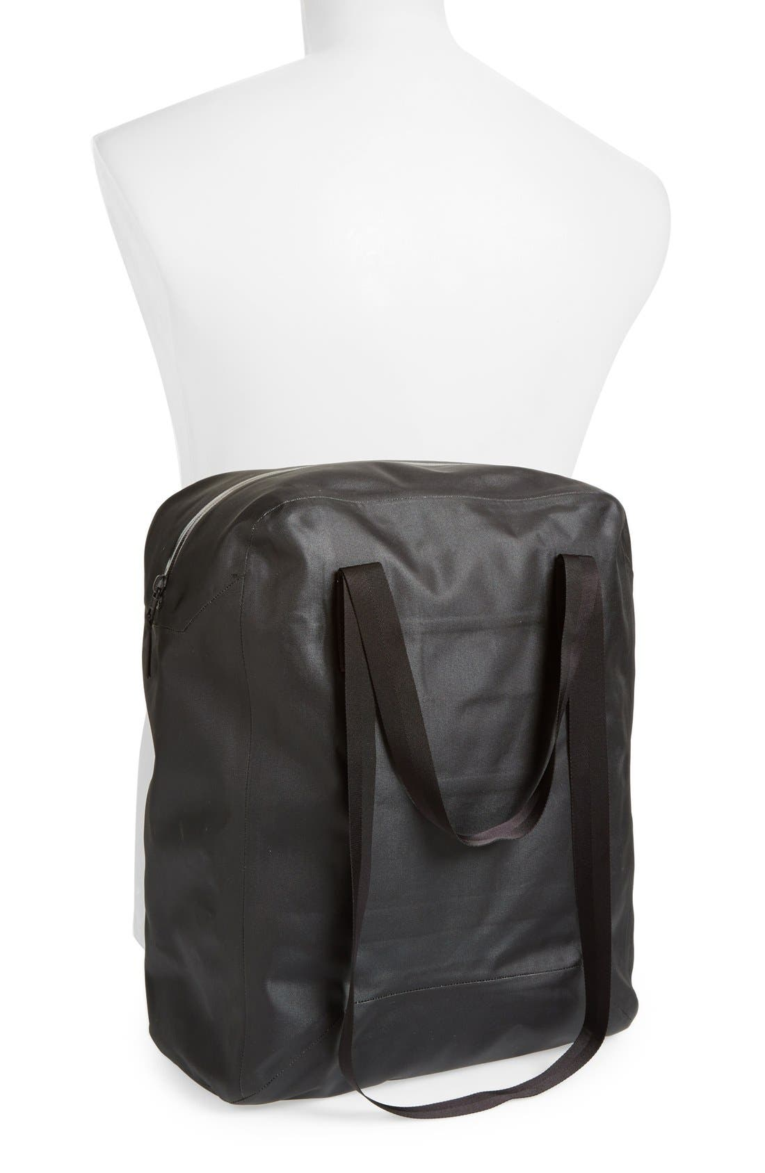 'Seque' Water Resistant Nylon Tote,                             Alternate thumbnail 2, color,                             001
