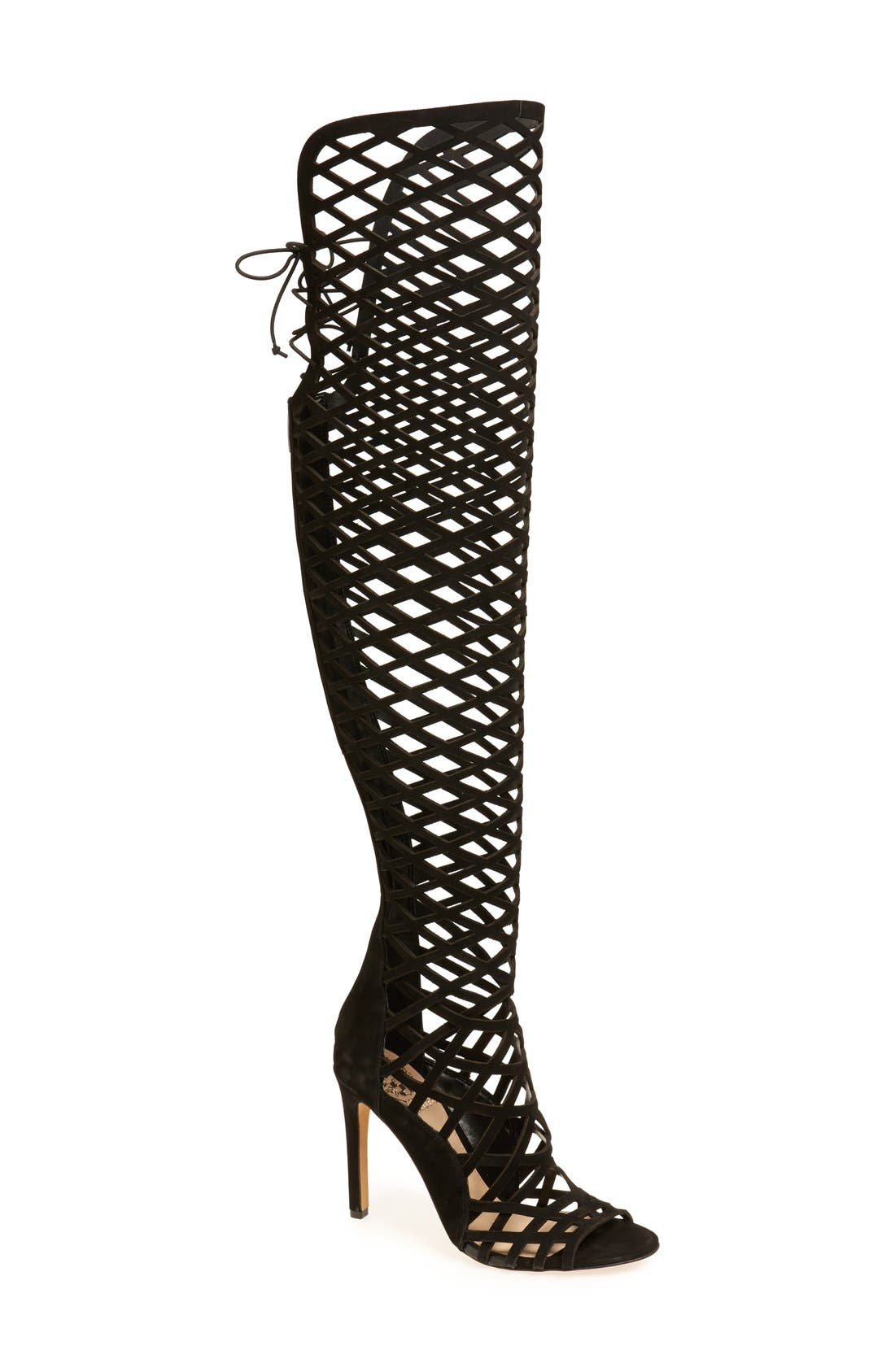 'Keliana' Over the Knee Boot, Main, color, 001