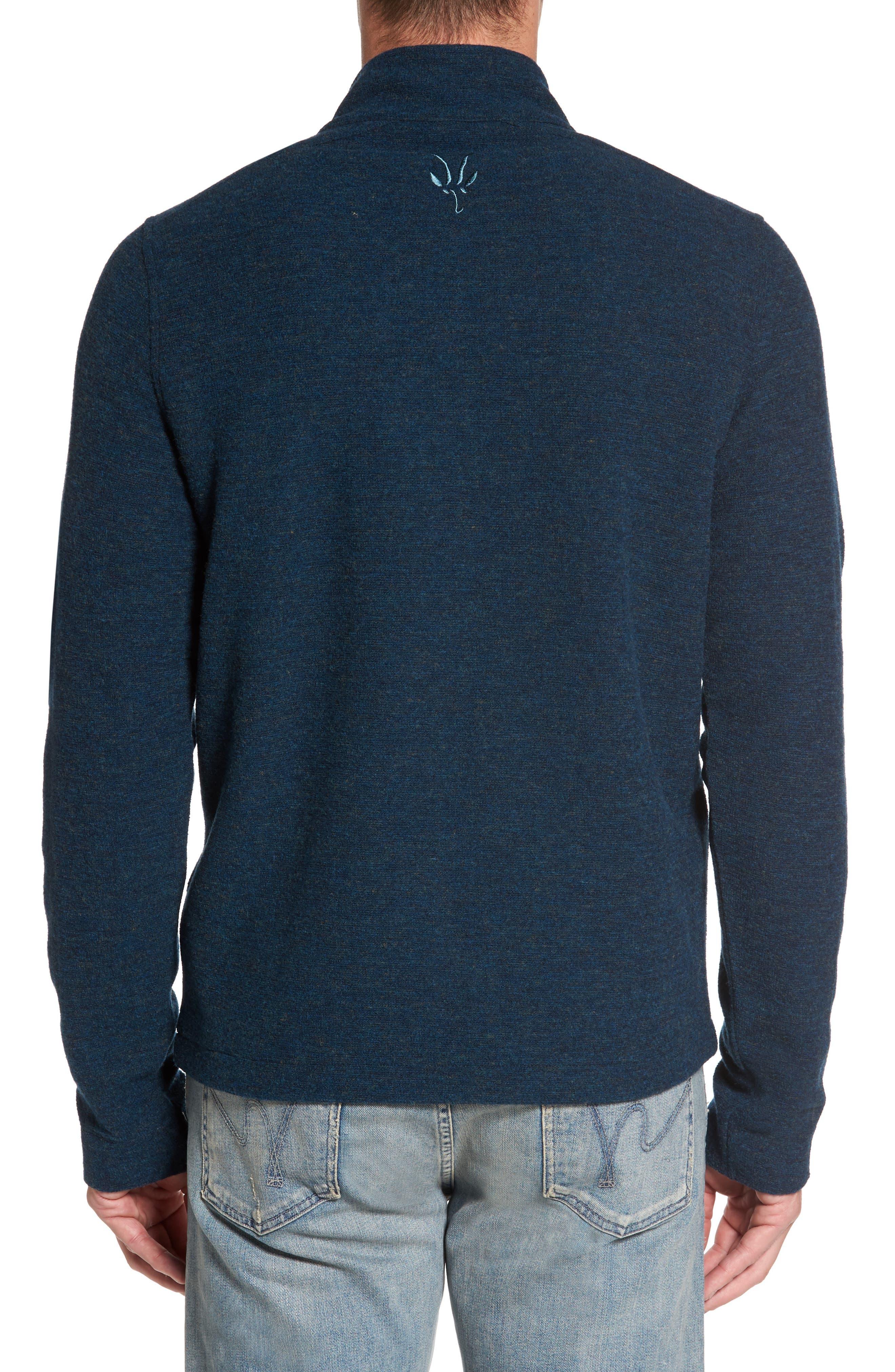 Scout Jura Merino Wool Blend Quarter Zip Pullover,                             Alternate thumbnail 9, color,