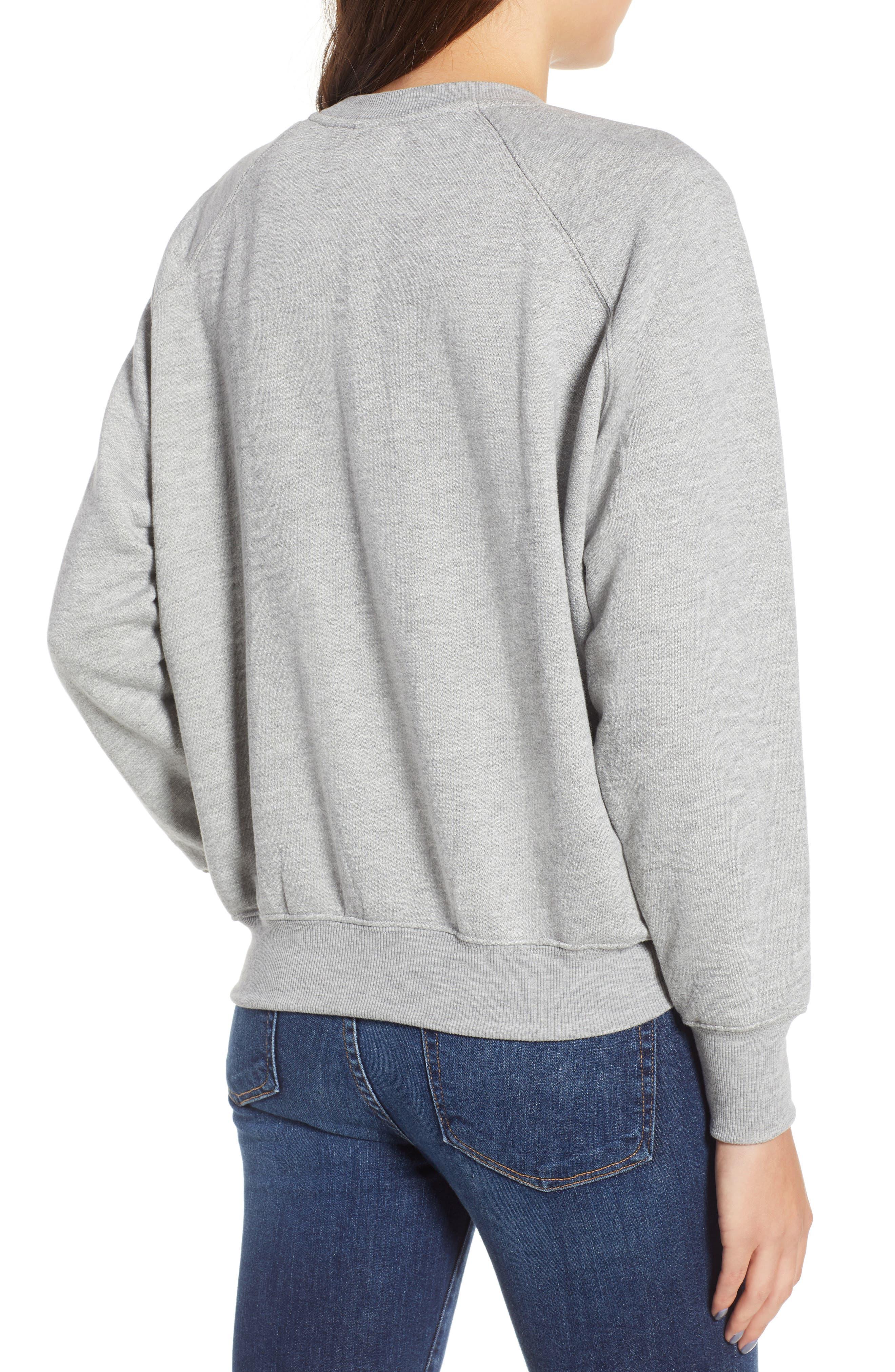 Sweatshirt,                             Alternate thumbnail 6, color,