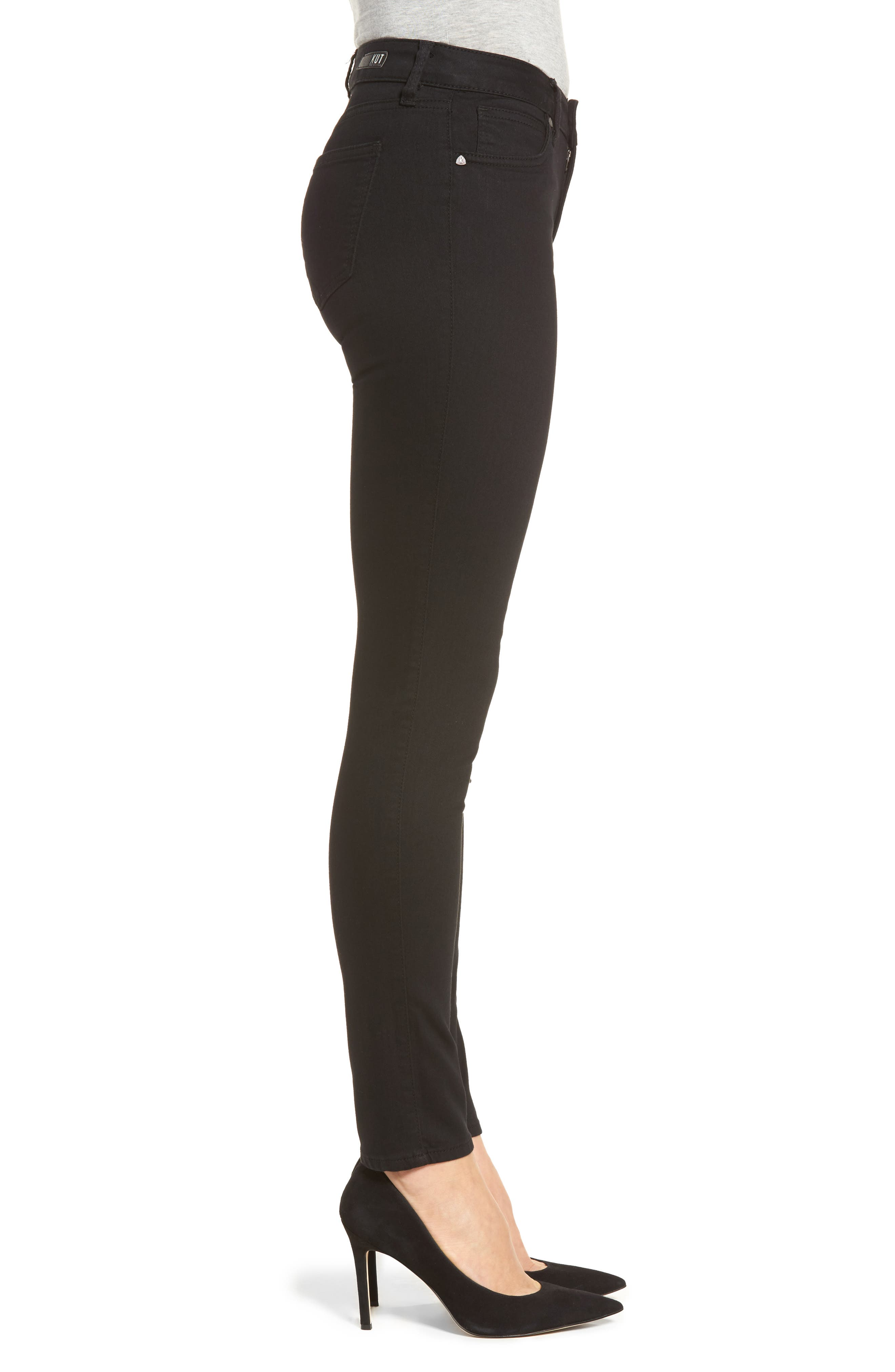 Diana Curvy Fit Skinny Jeans,                             Alternate thumbnail 3, color,                             002
