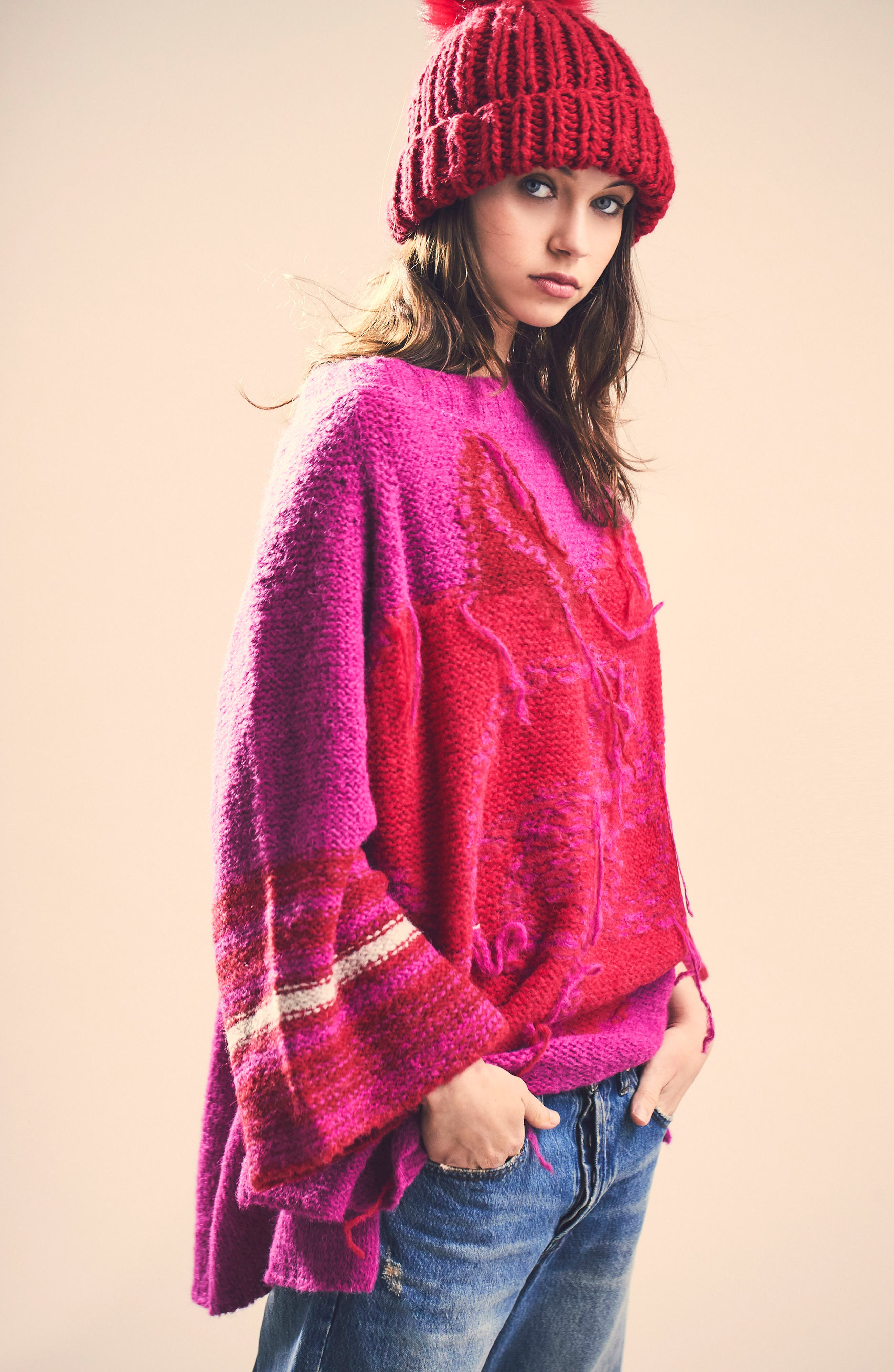 Last Rose Sweater,                             Alternate thumbnail 7, color,                             650