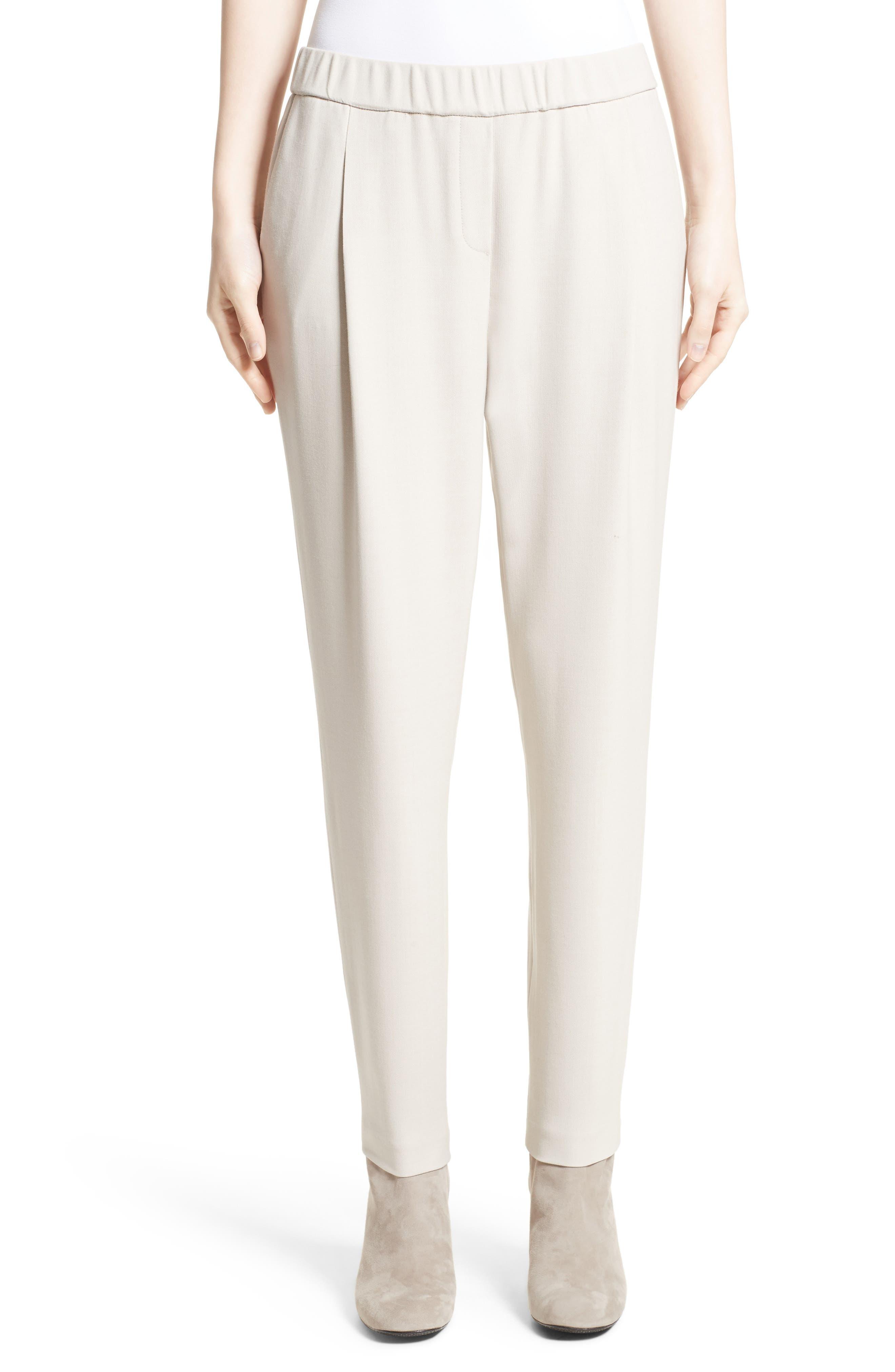 Woven Crop Pants,                         Main,                         color, 101