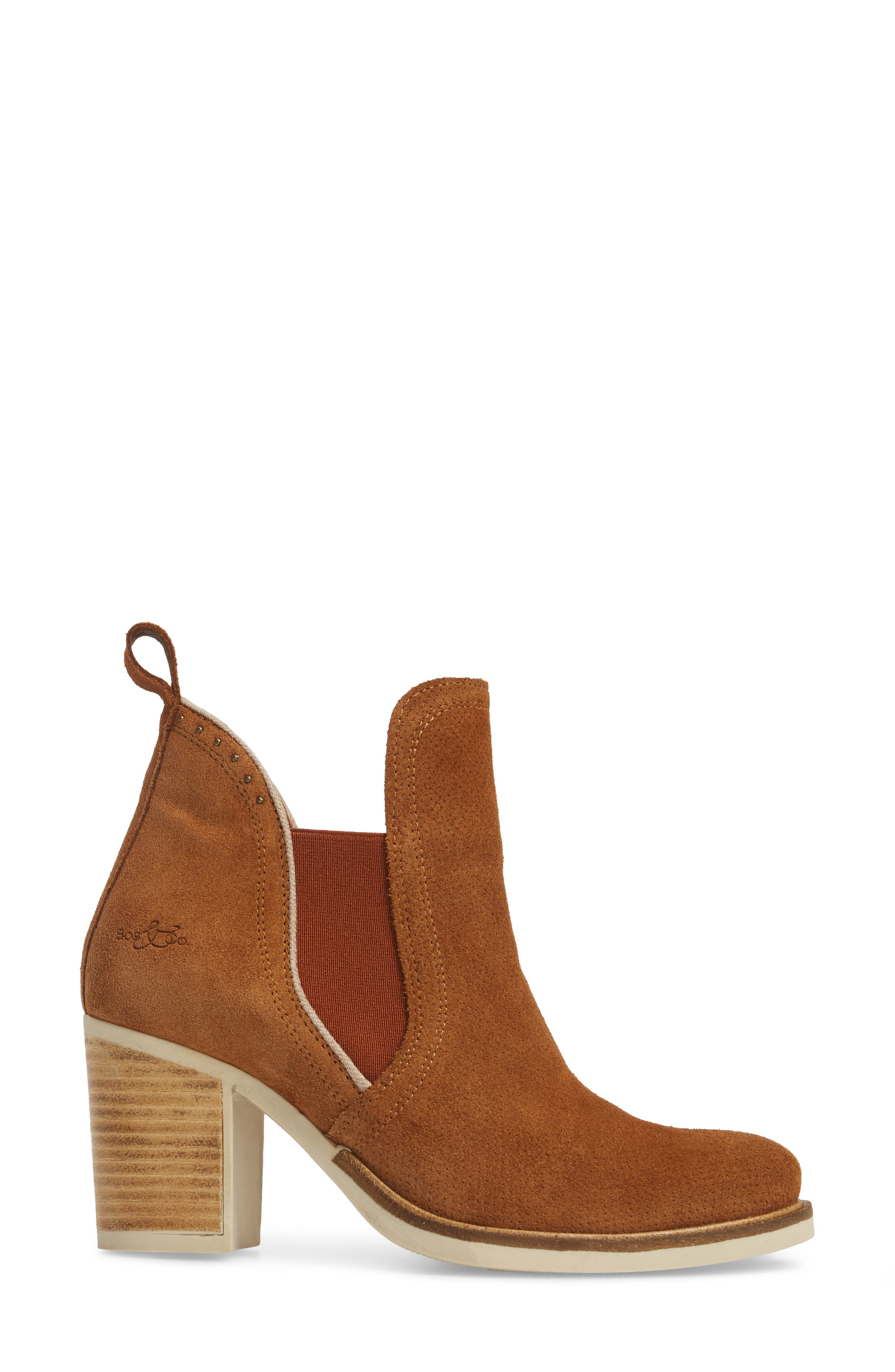 Breves Boot,                             Alternate thumbnail 3, color,                             WHISKY/ BEIGE SUEDE