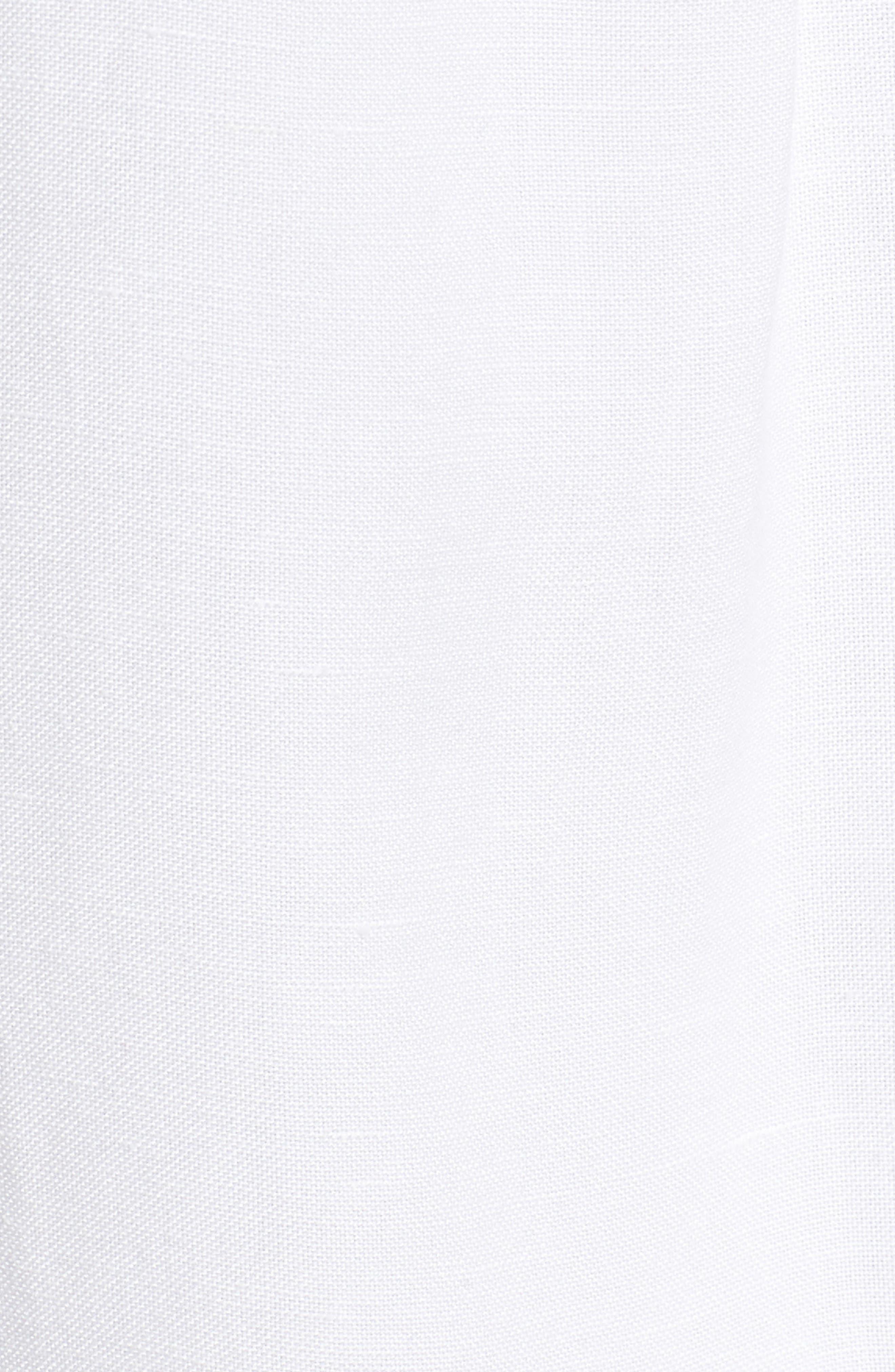 Homebound Linen Blend Drawstring Jacket,                             Alternate thumbnail 7, color,                             PAPER WHITE