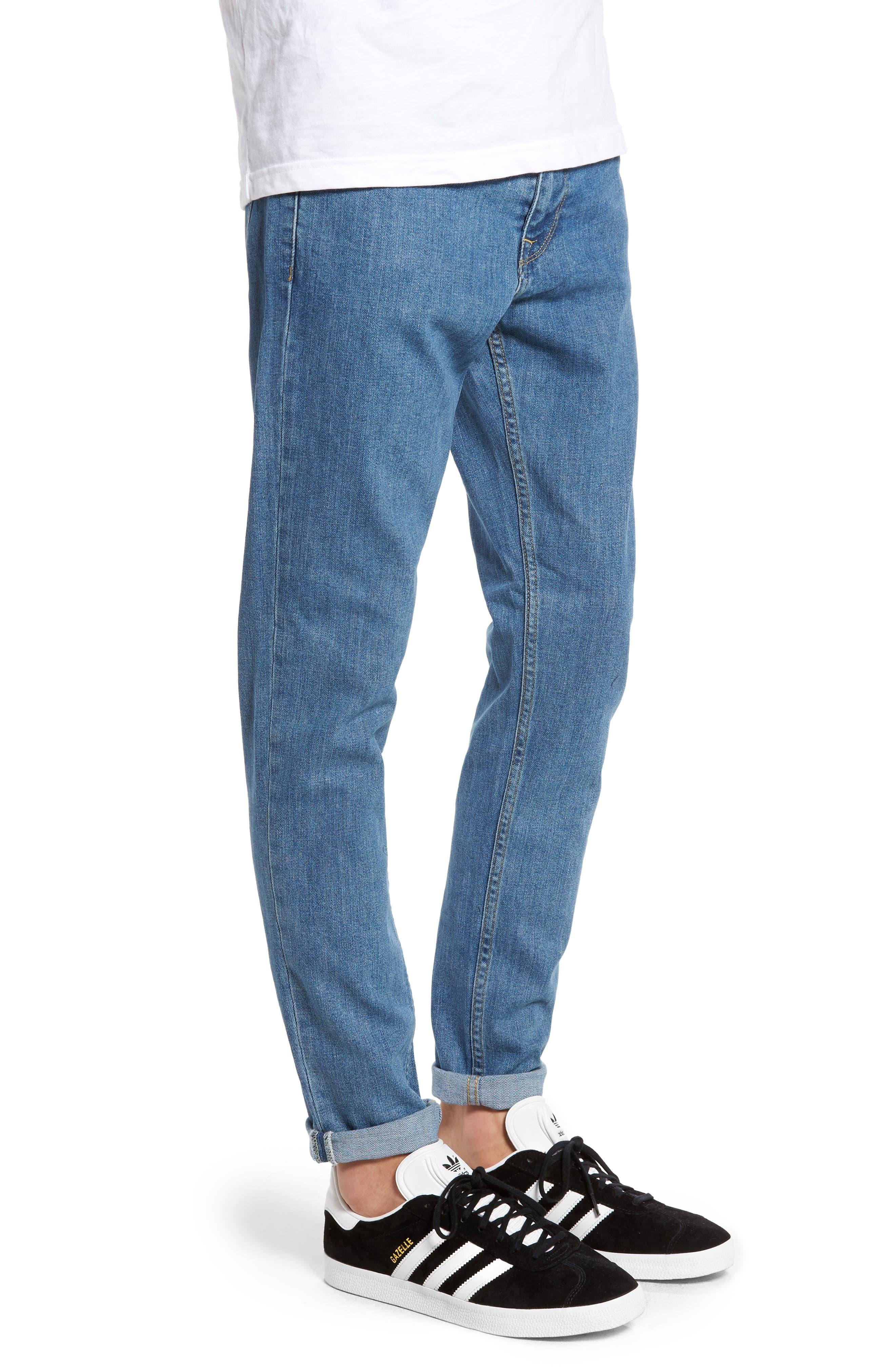 Clark Slim Straight Fit Jeans,                             Alternate thumbnail 3, color,