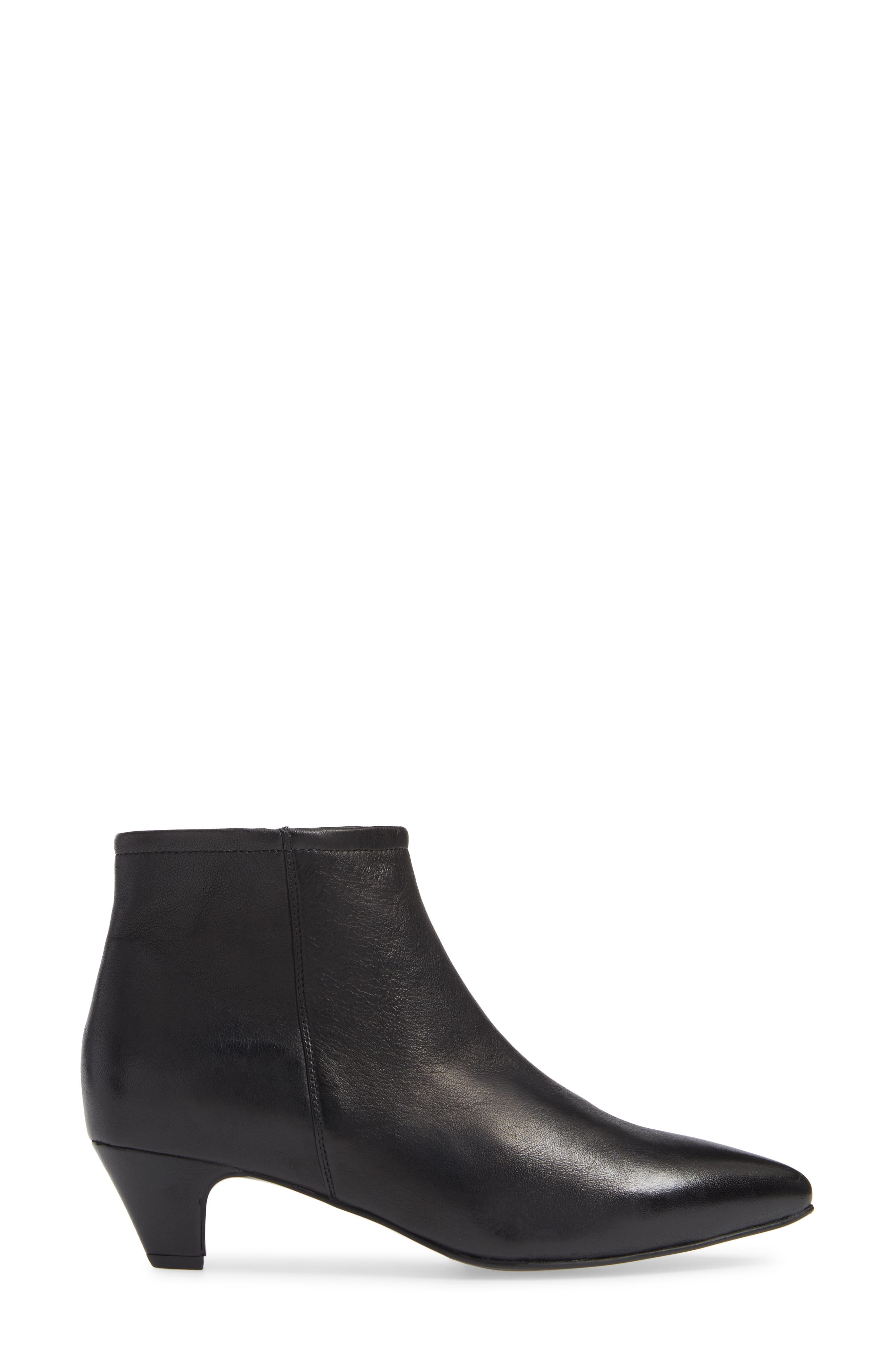 SEYCHELLES,                             Biome Bootie,                             Alternate thumbnail 3, color,                             BLACK LEATHER