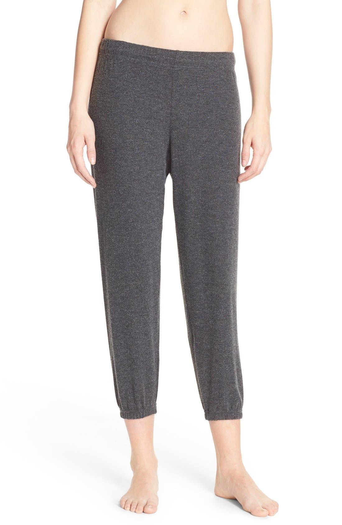 'Nate' Crop Sweatpants,                         Main,                         color, 001