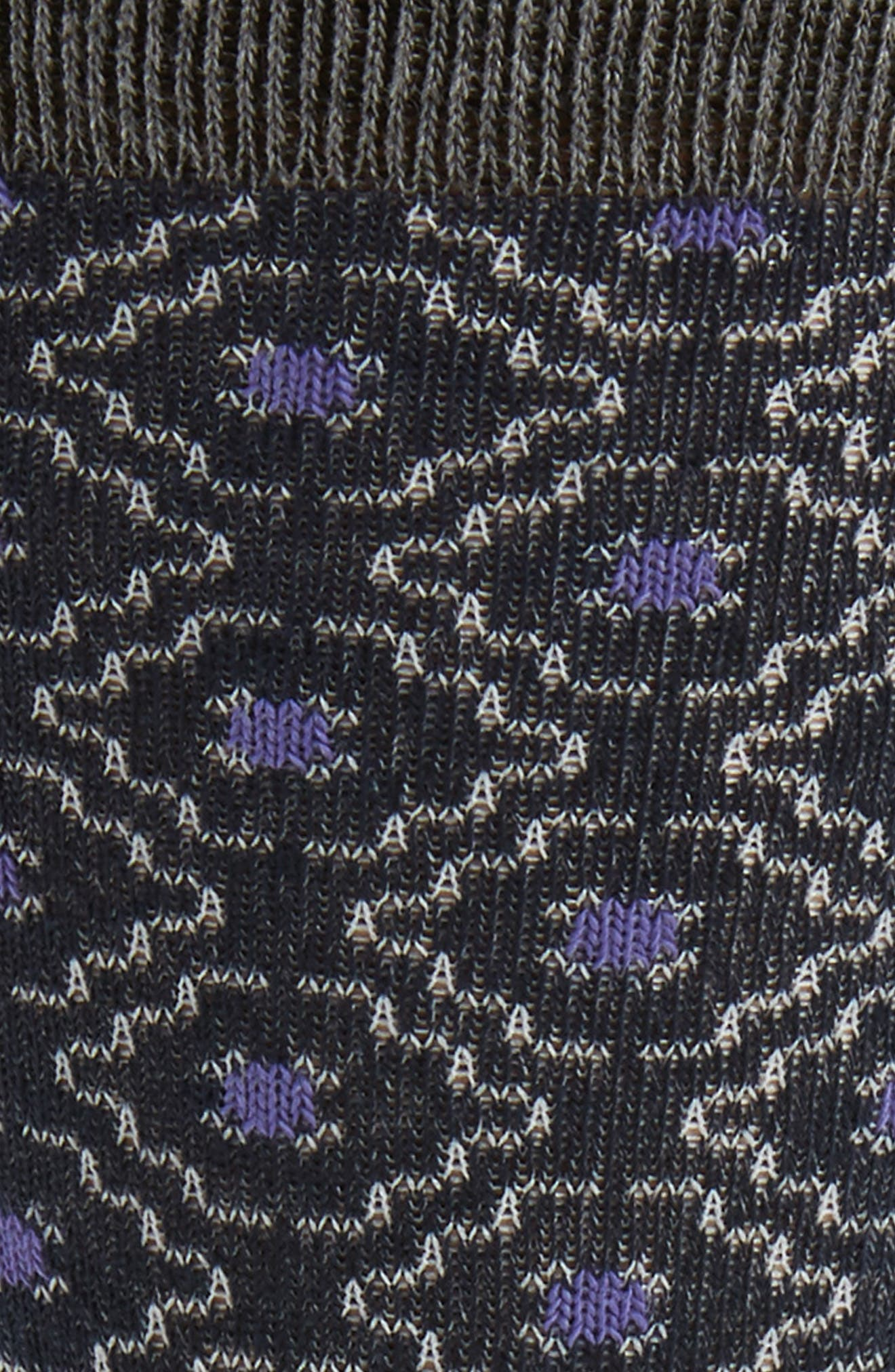 Norzec Geometric Sock,                             Alternate thumbnail 8, color,