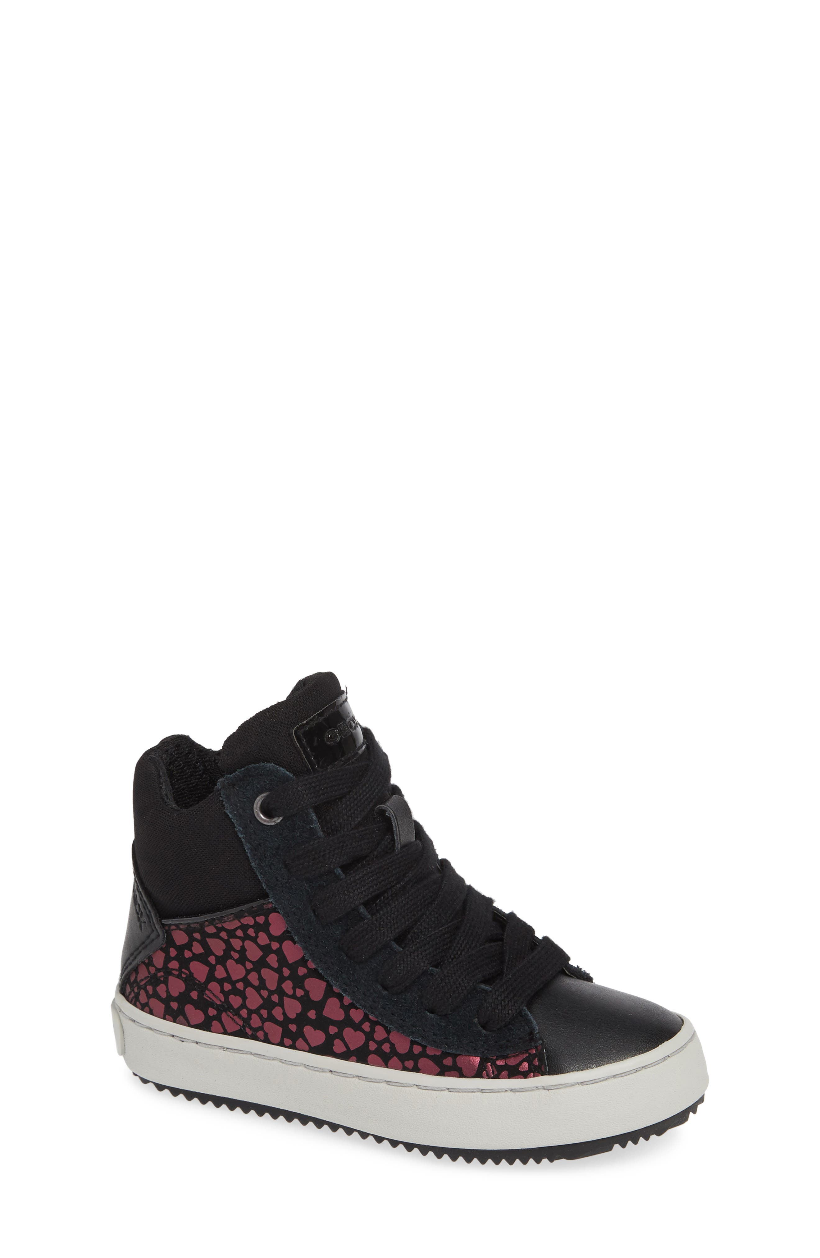 Kalispera High Top Sneaker,                         Main,                         color, BLACK