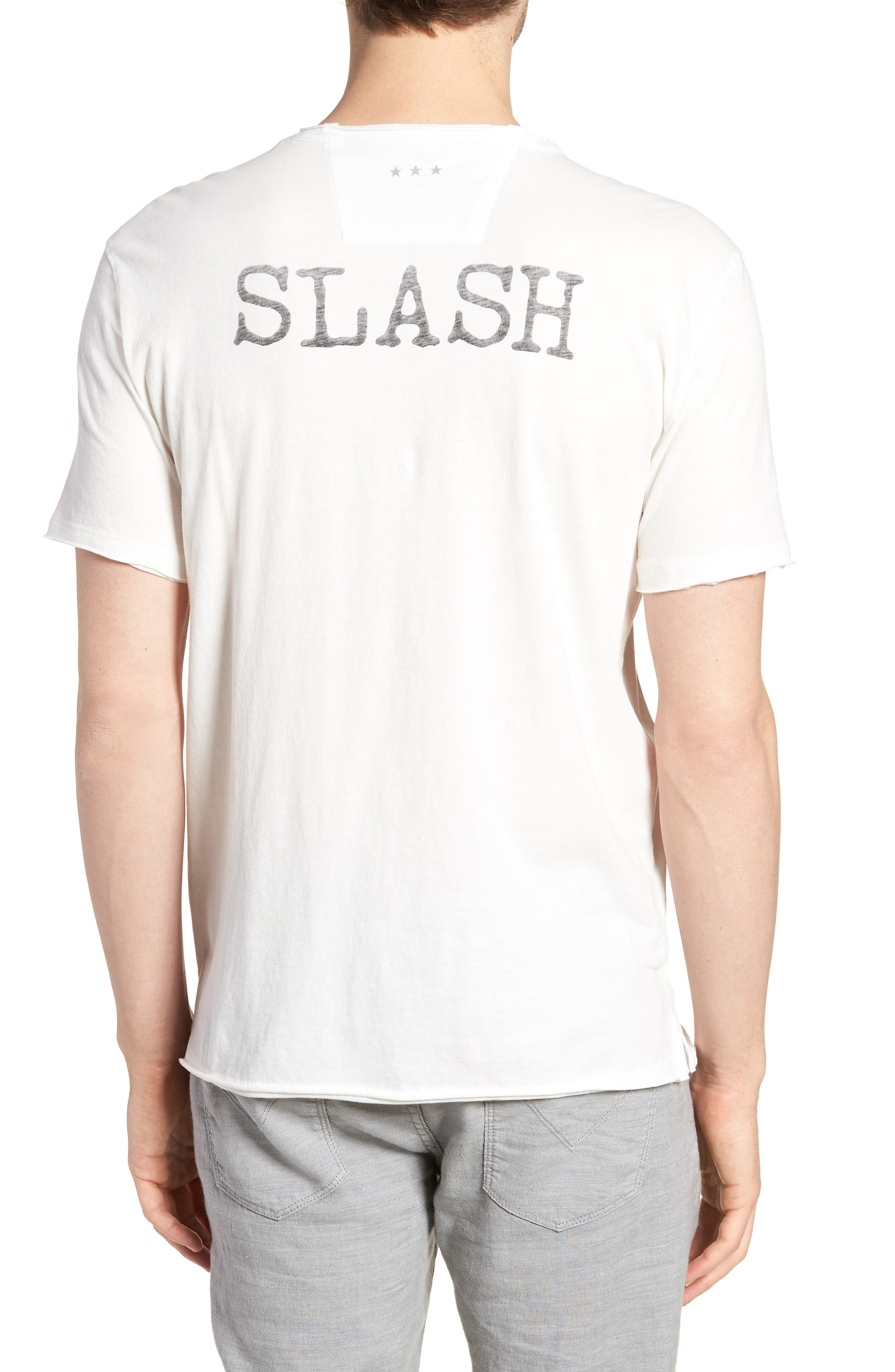 Slash Crewneck T-Shirt,                             Alternate thumbnail 2, color,                             SALT