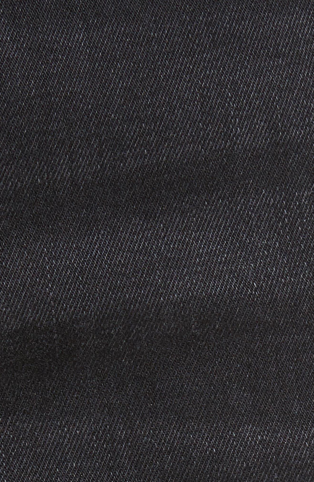 Hunter Skinny Jeans,                             Alternate thumbnail 5, color,                             001