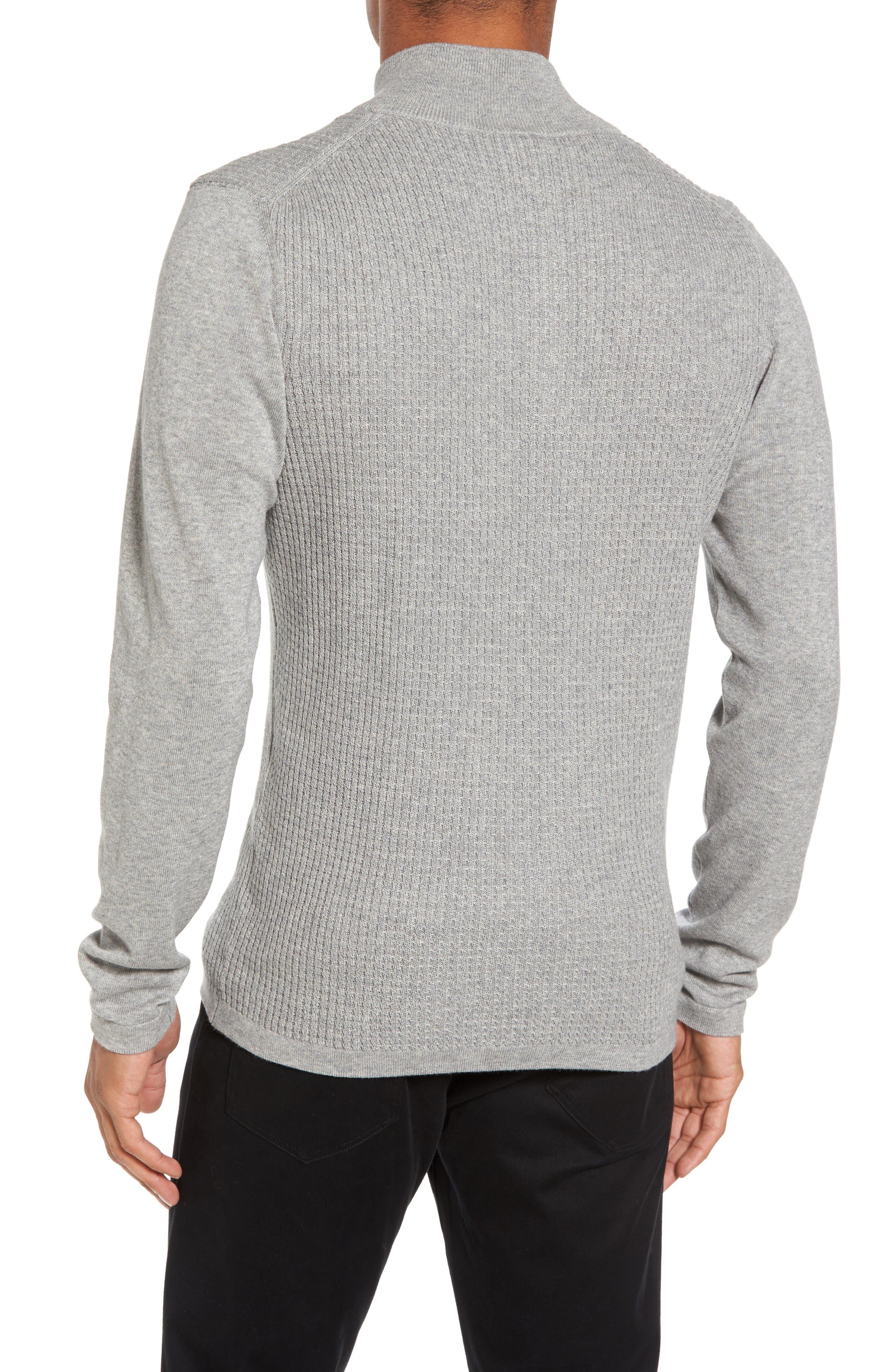 Higgins Quarter Zip Sweater,                             Alternate thumbnail 2, color,                             050