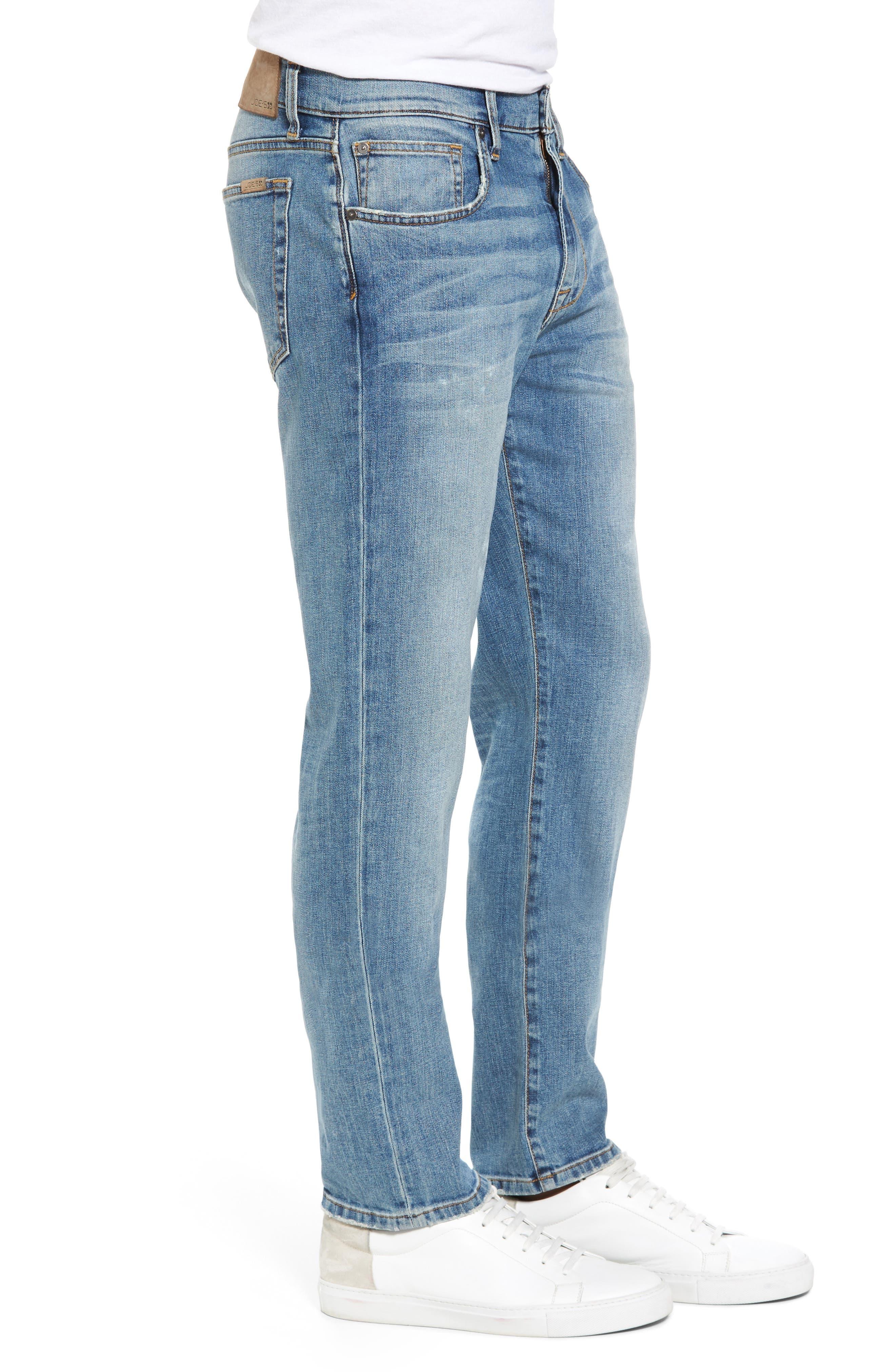 Brixton Slim Straight Fit Jeans,                             Alternate thumbnail 3, color,                             475