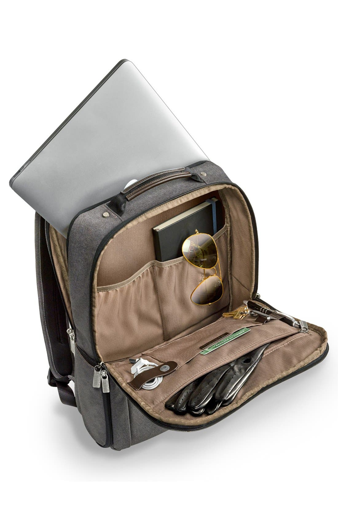 Kinzie Street Medium Backpack,                             Alternate thumbnail 2, color,                             GREY