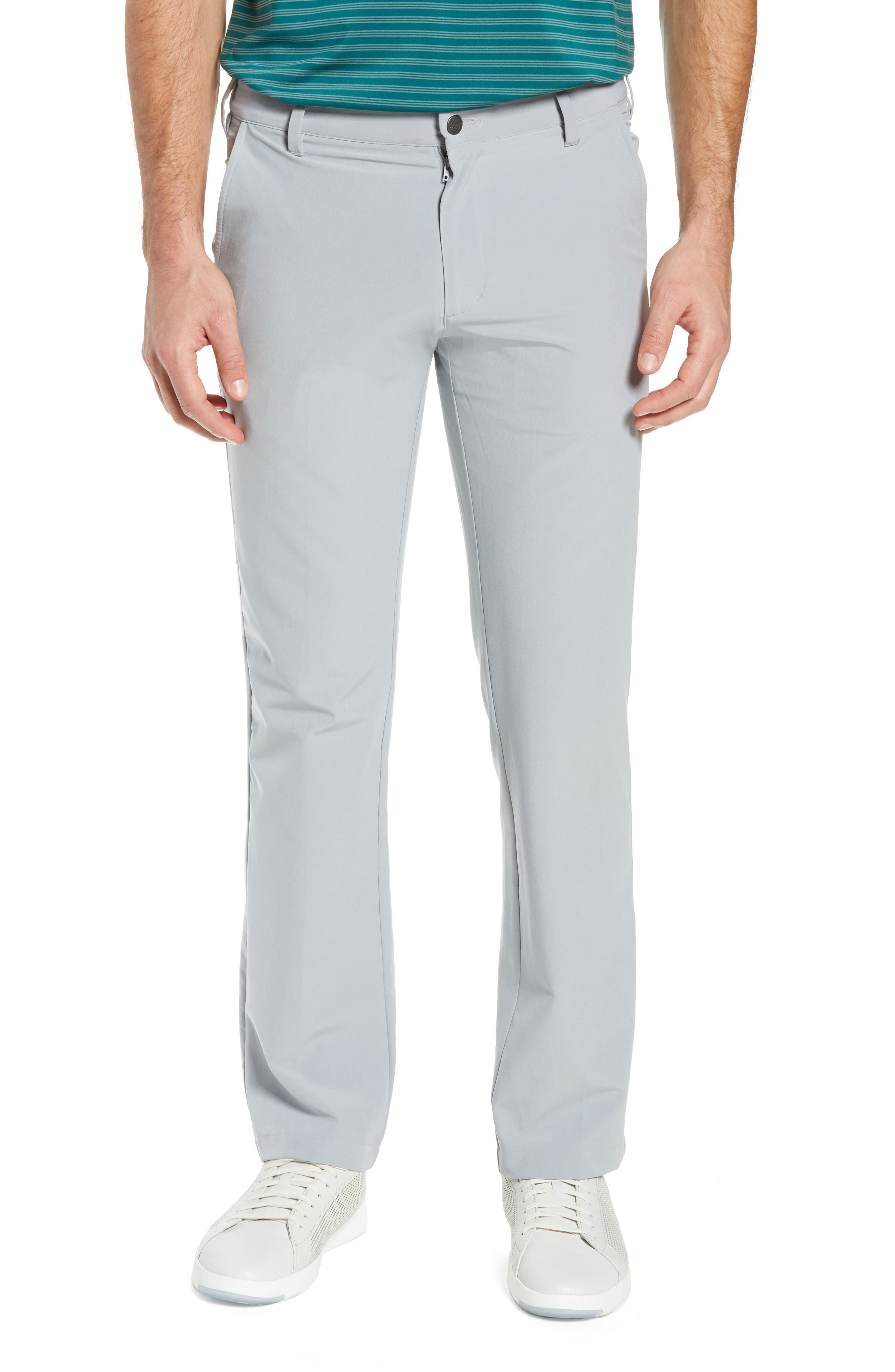 adidas Ultimate Regular Fit Golf Pants,                         Main,                         color, MID GREY