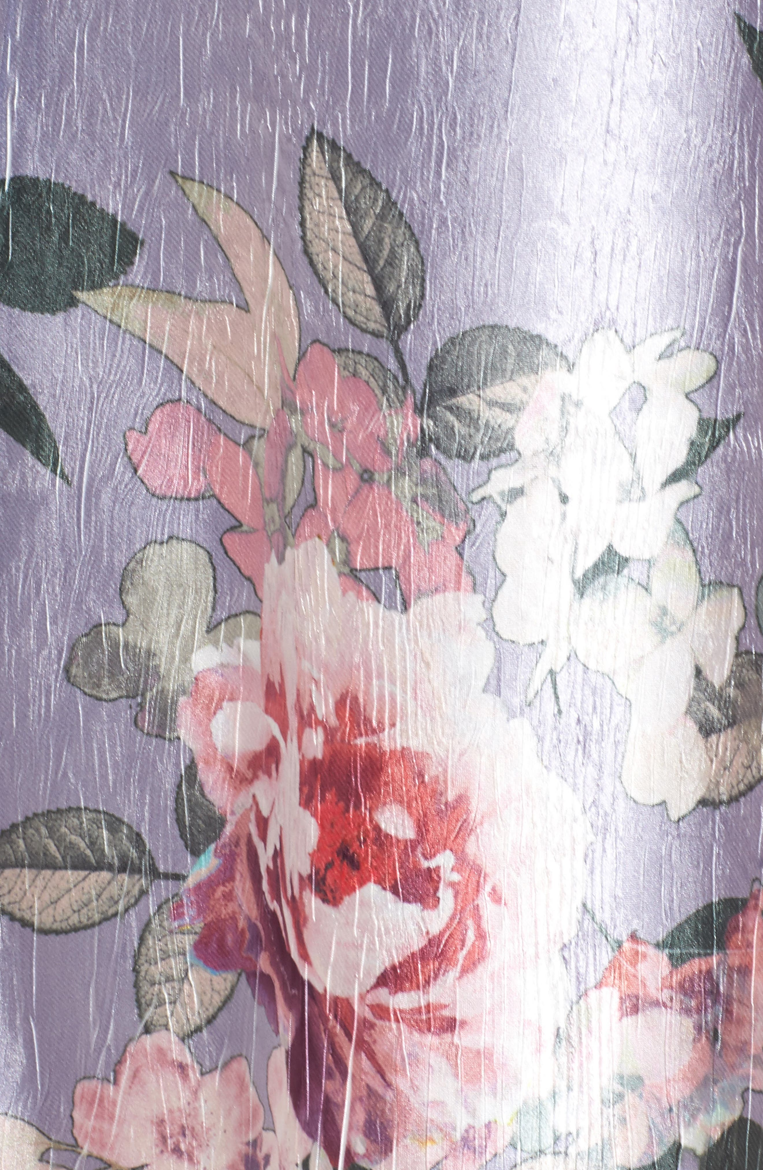 Charmeuse A-Line Dress,                             Alternate thumbnail 5, color,