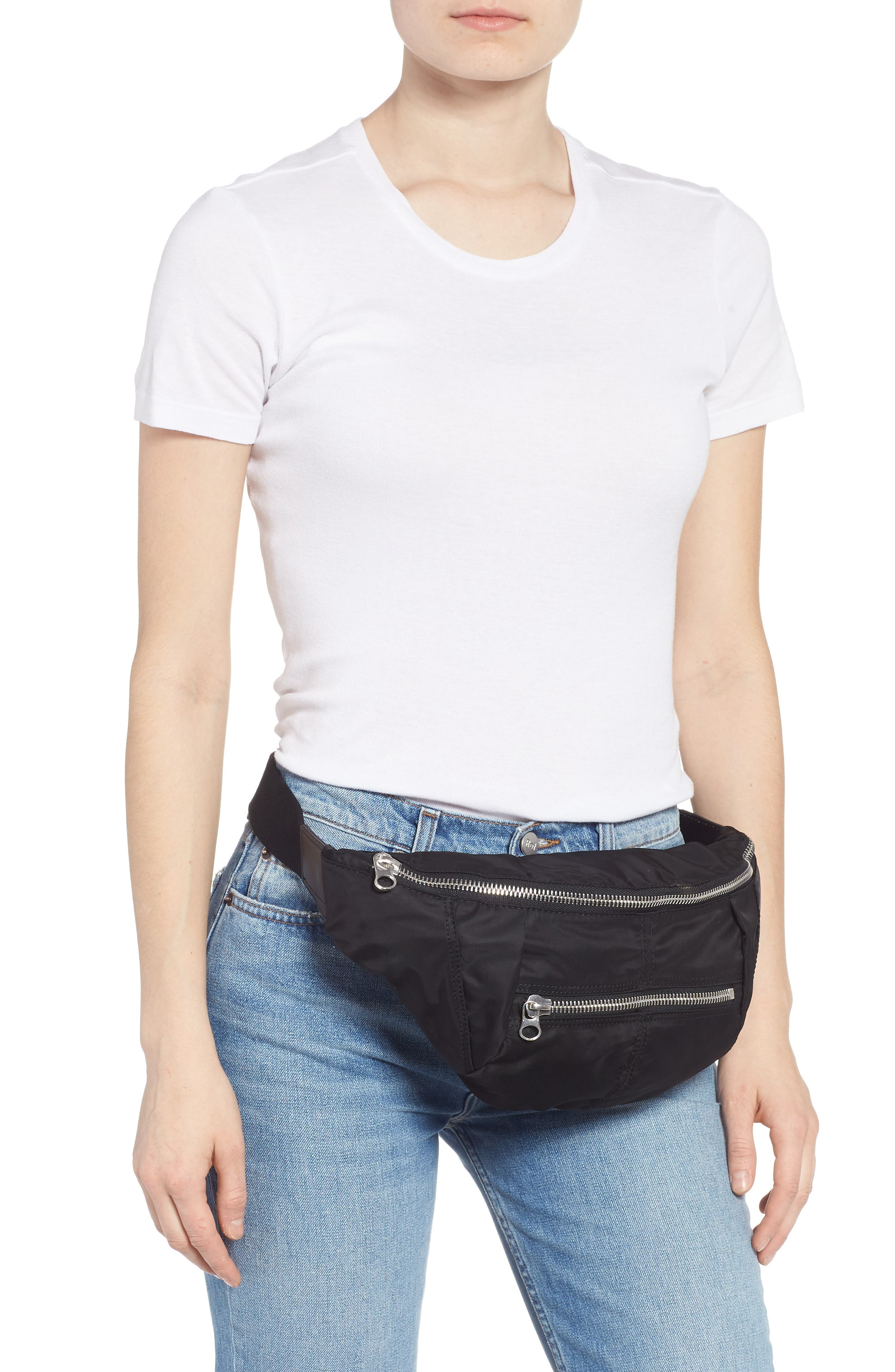 Noomi Fanny Pack,                             Alternate thumbnail 2, color,                             BLACK