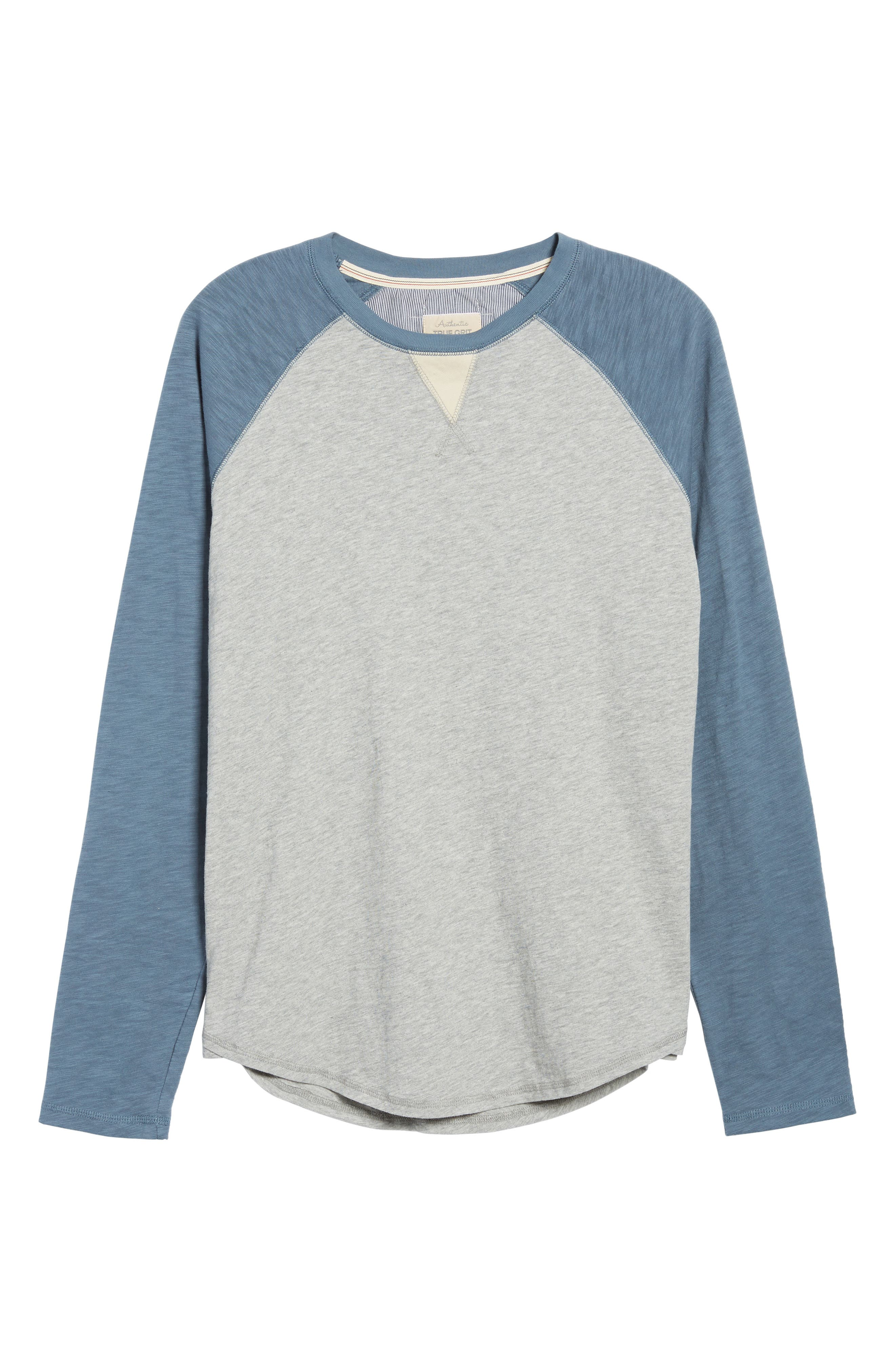 Vintage Raglan Shirt,                             Alternate thumbnail 18, color,