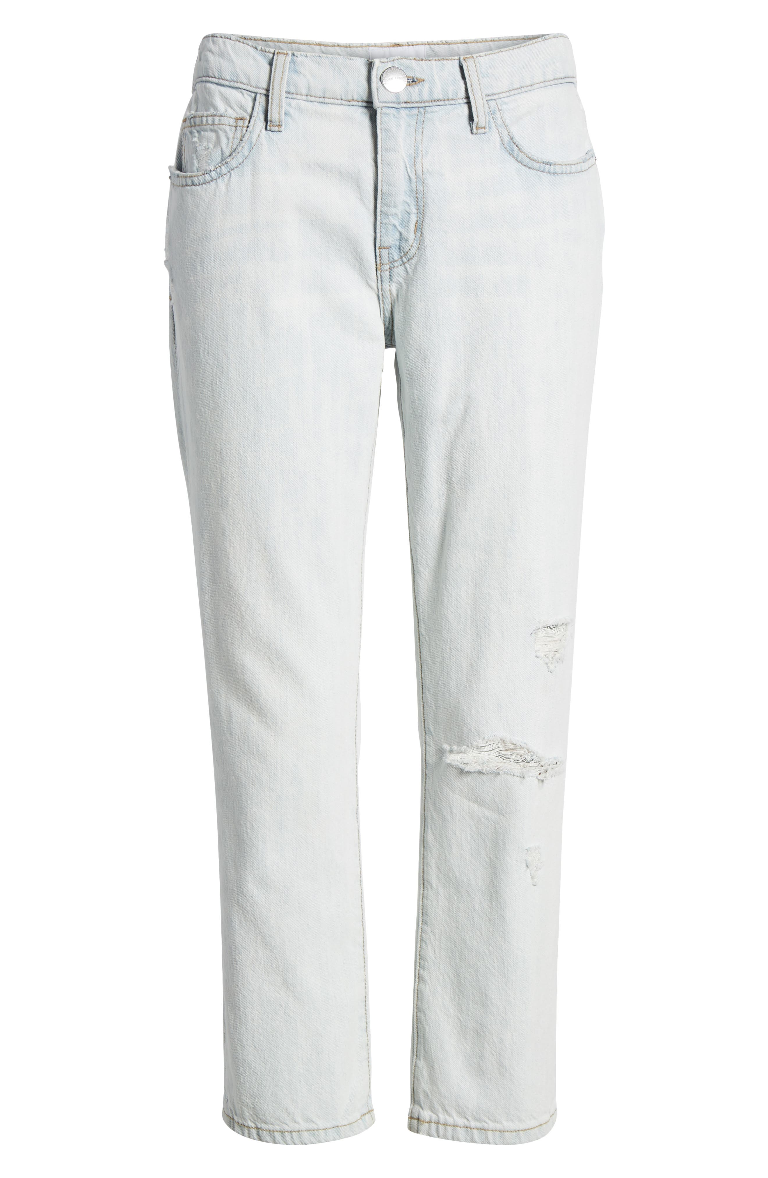 The Cropped Straight Leg Jeans,                             Alternate thumbnail 7, color,                             471