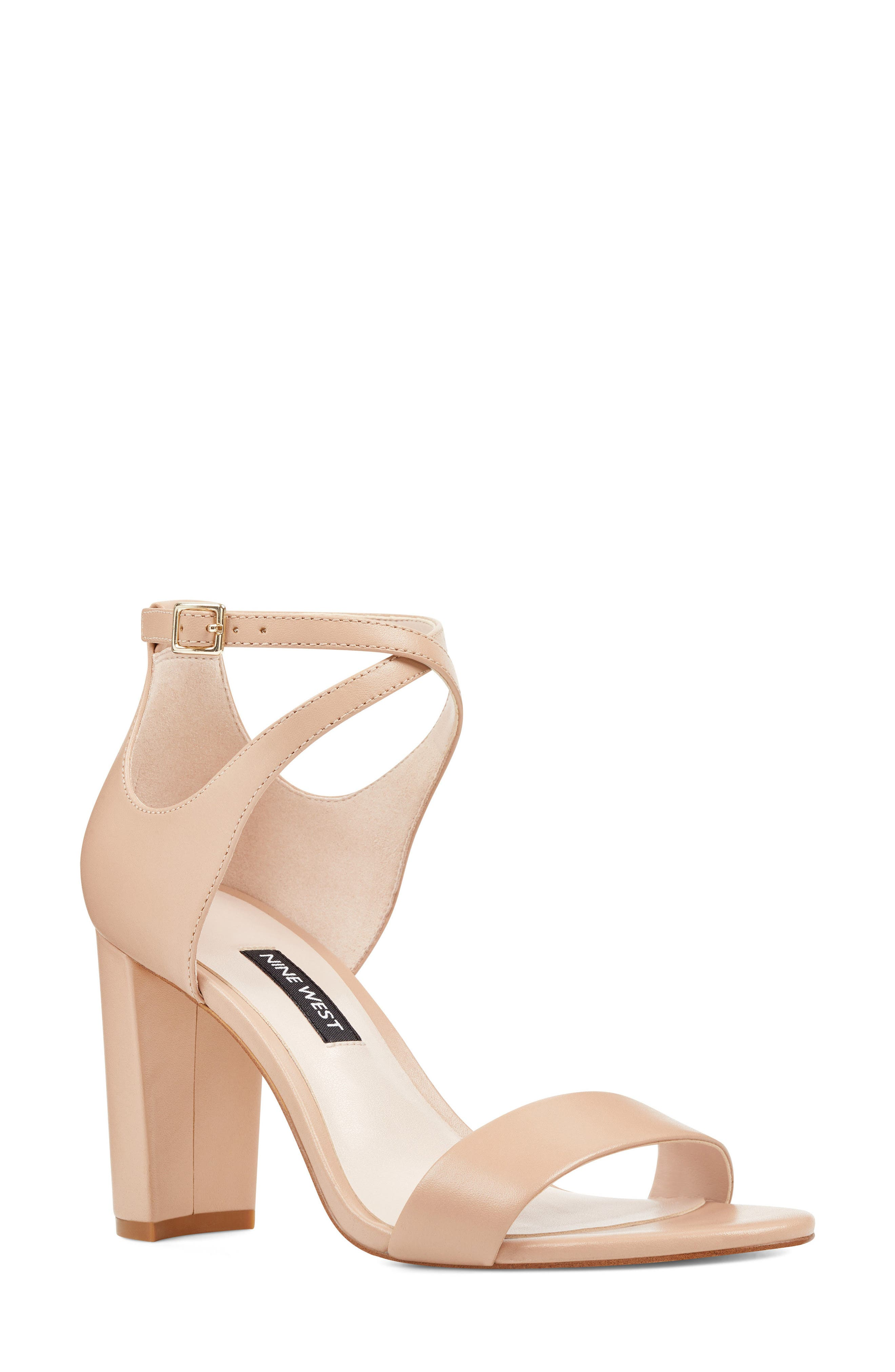 Nunzaya Ankle Strap Sandal,                         Main,                         color, 270