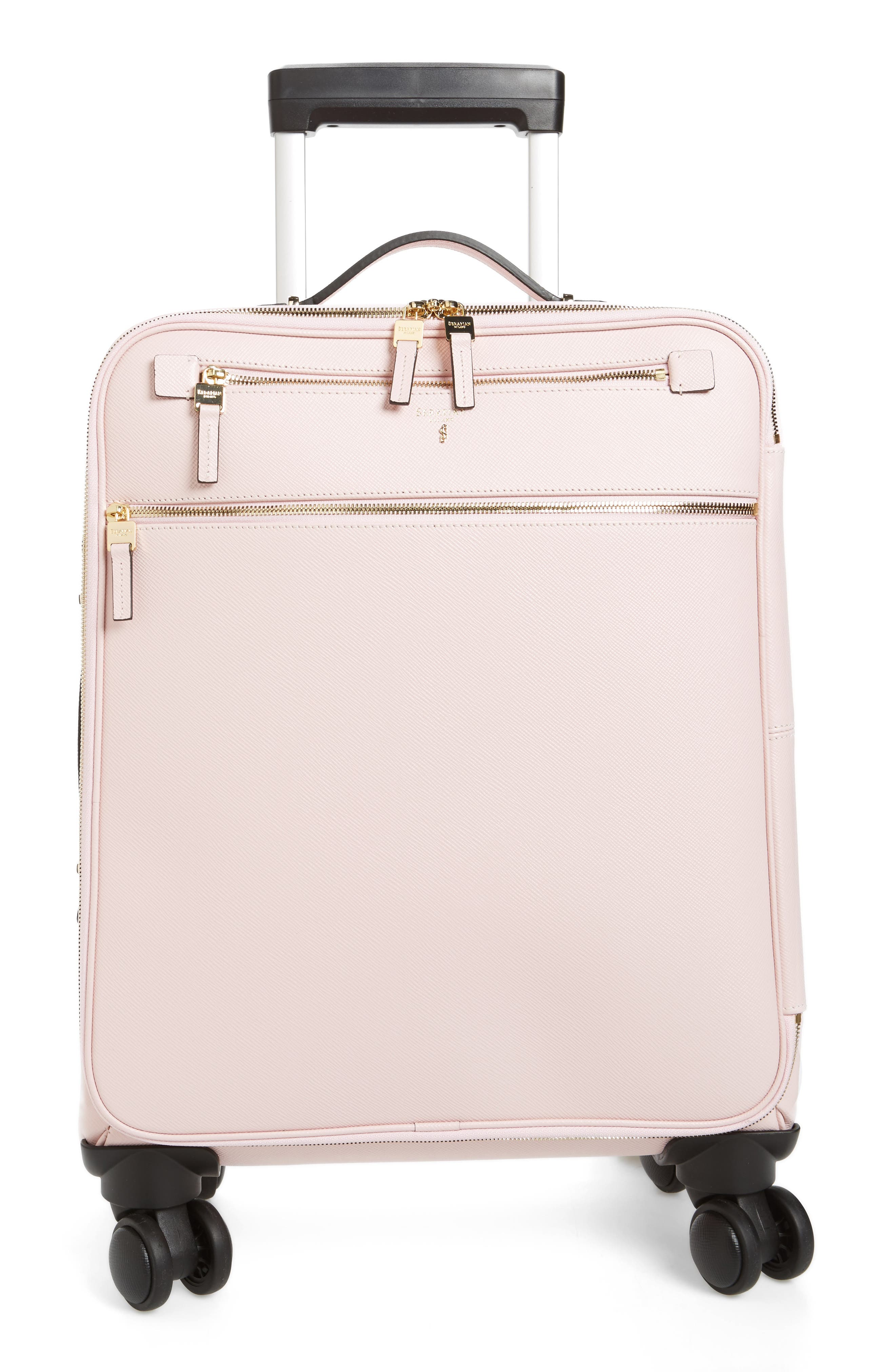 Trolley Spinner Wheeled Carry-On Suitcase,                             Main thumbnail 5, color,
