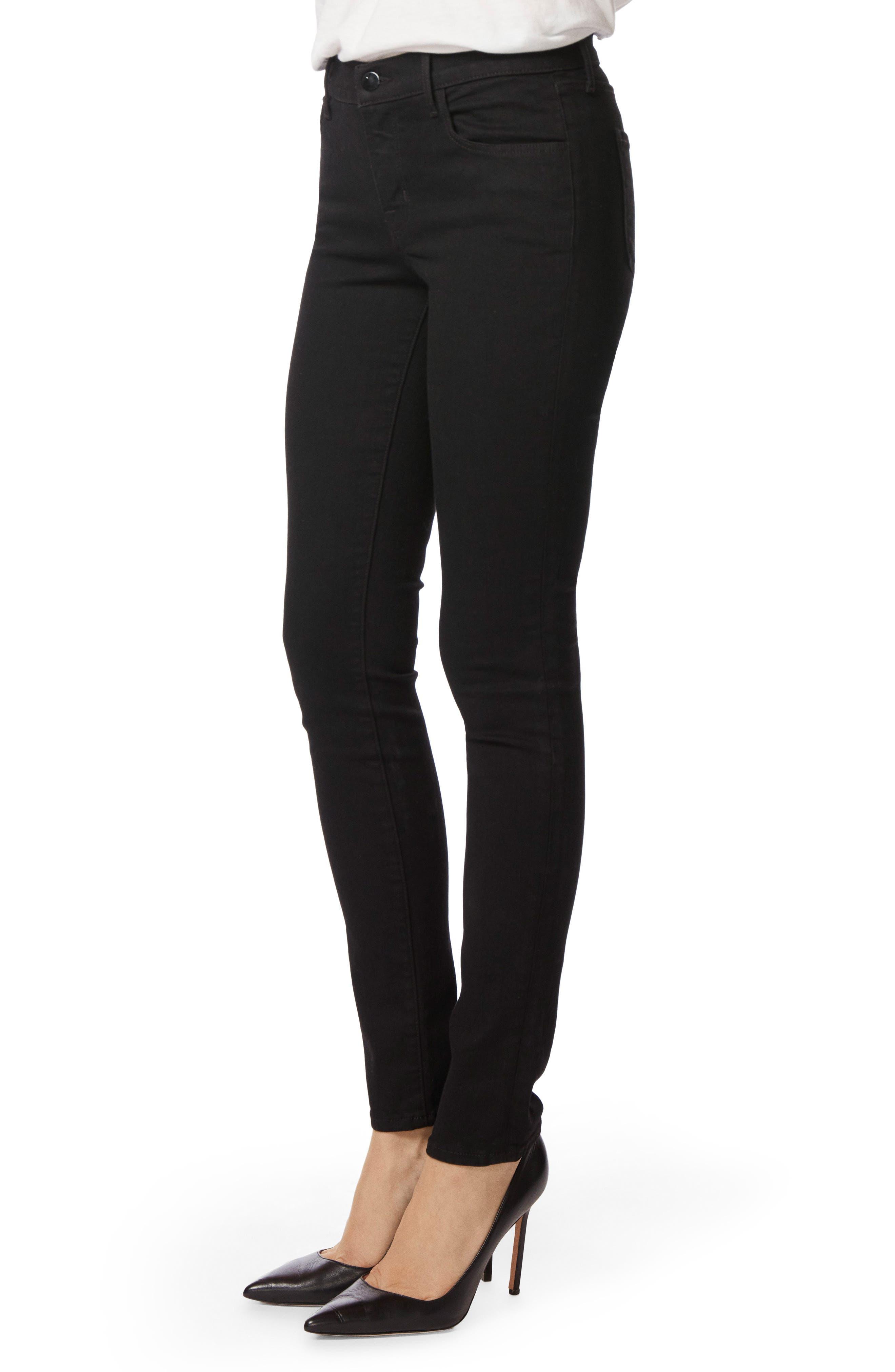 '811' Mid Rise Skinny Jeans,                             Alternate thumbnail 6, color,
