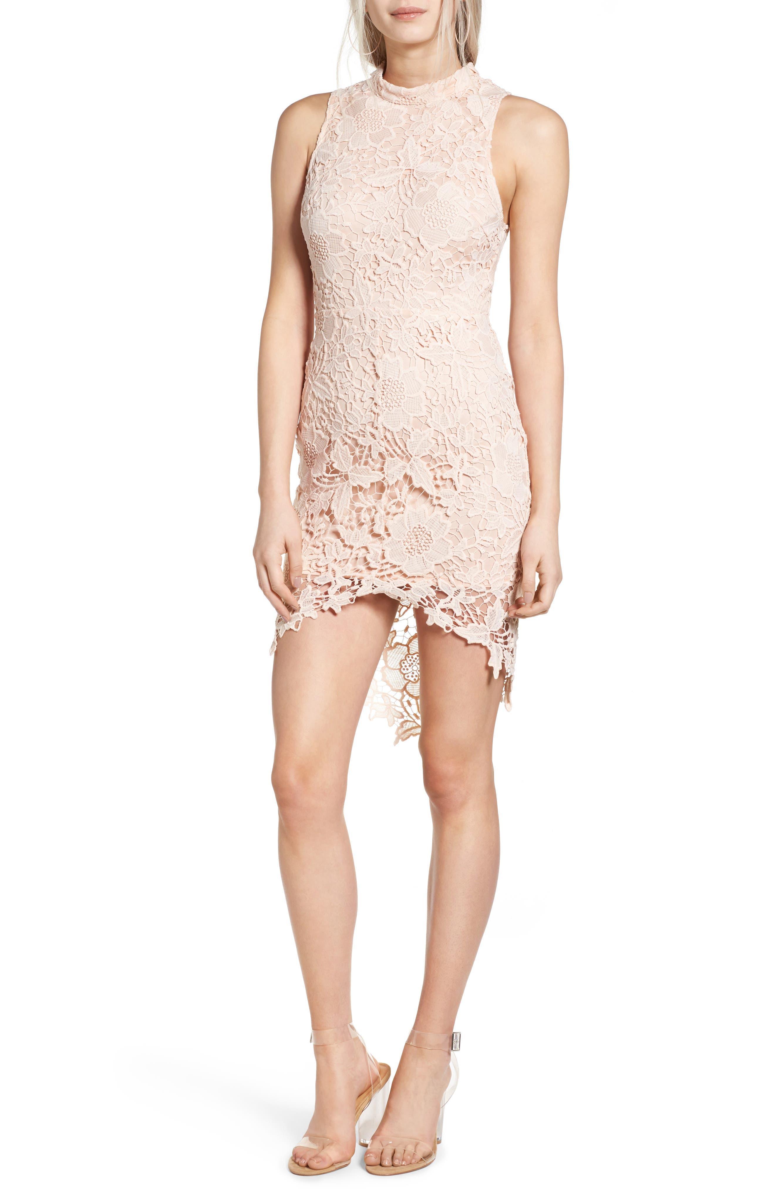 'Samantha' Lace Dress,                             Main thumbnail 7, color,