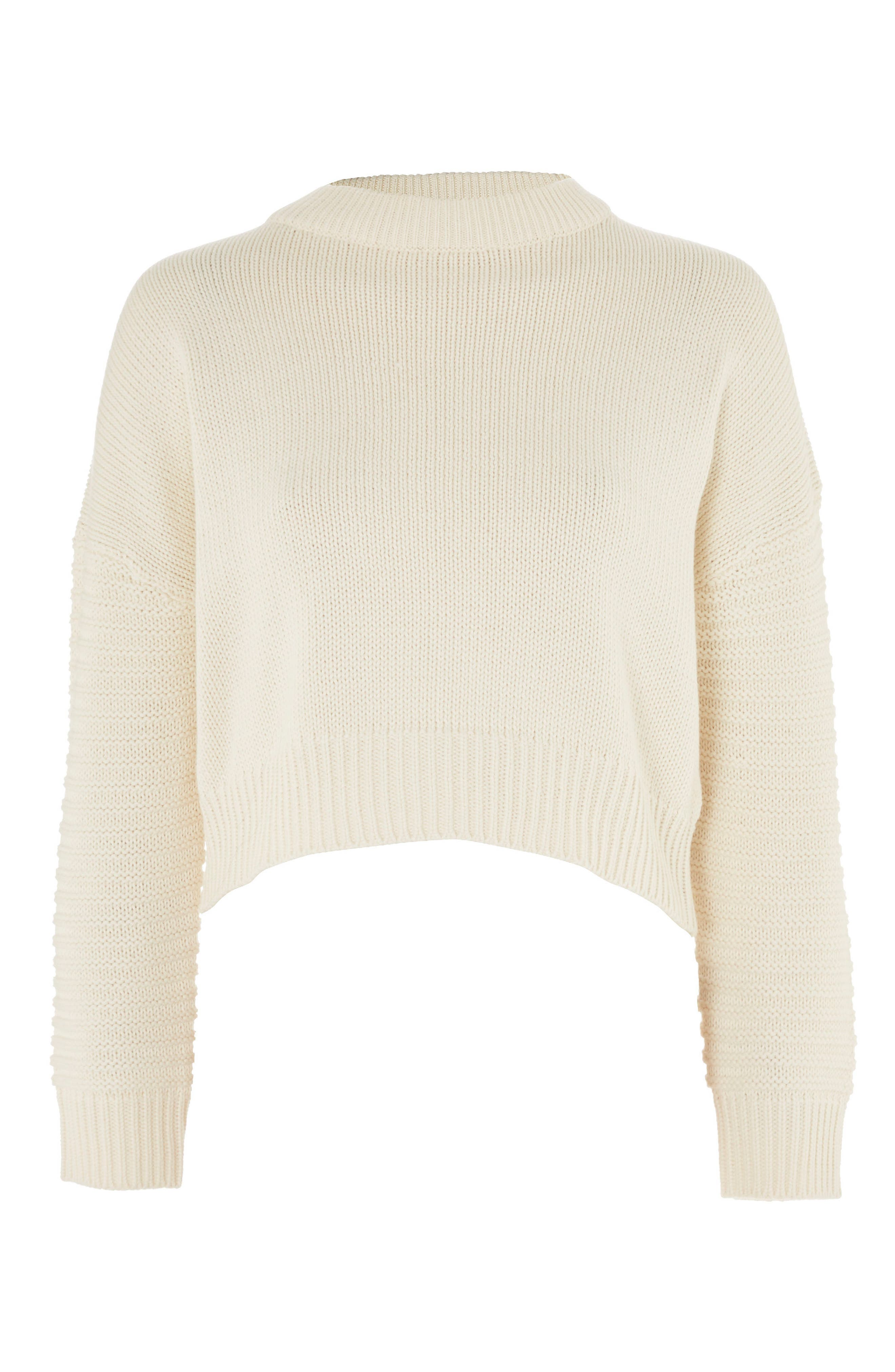 Stitch Sleeve Sweater,                             Alternate thumbnail 3, color,