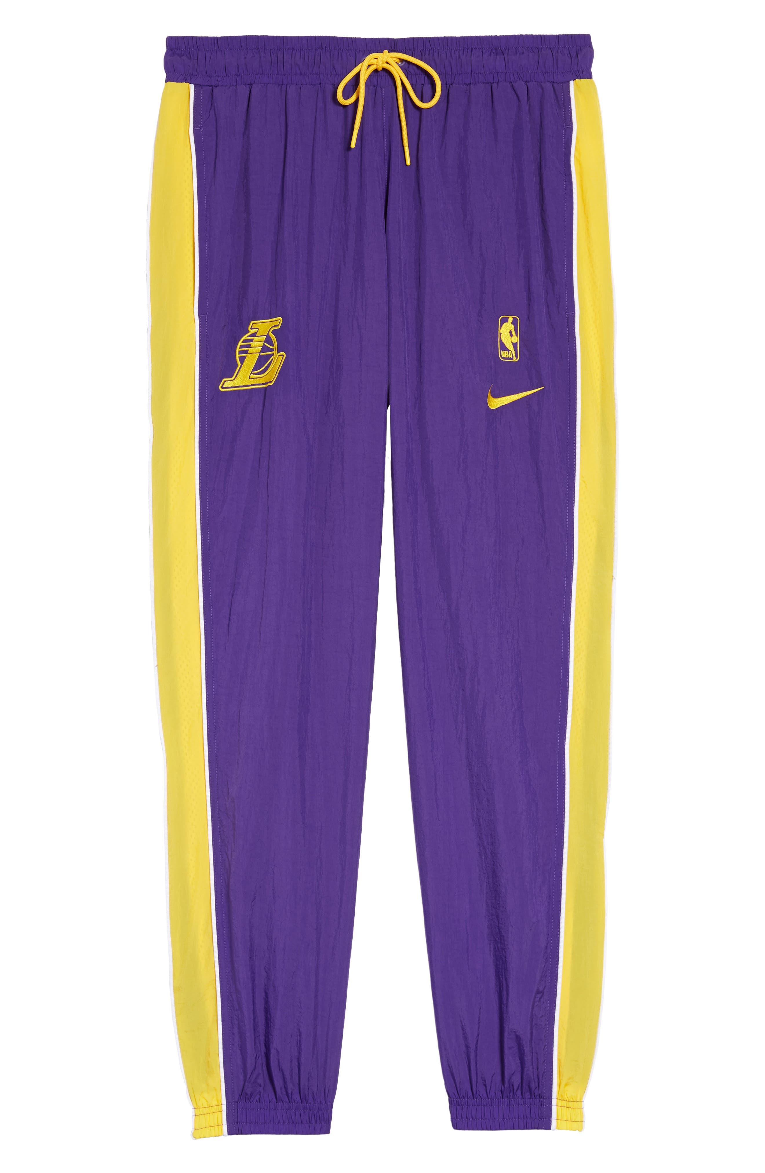 LA Lakers Tracksuit Pants,                             Alternate thumbnail 6, color,                             504
