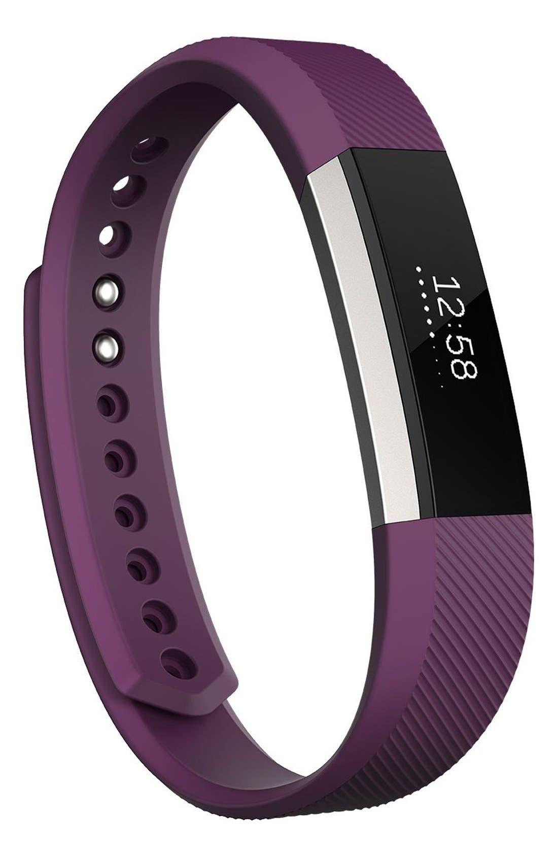 'Alta' Wireless Fitness Tracker,                             Alternate thumbnail 4, color,                             PLUM