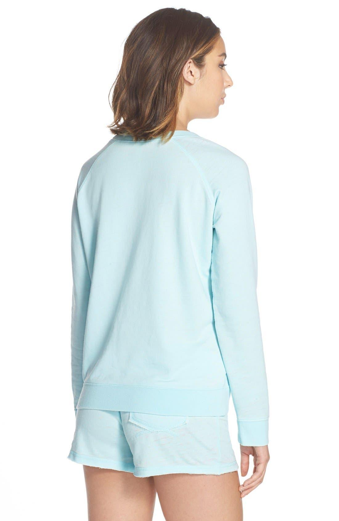 Burnout Lounge Sweatshirt,                             Alternate thumbnail 166, color,