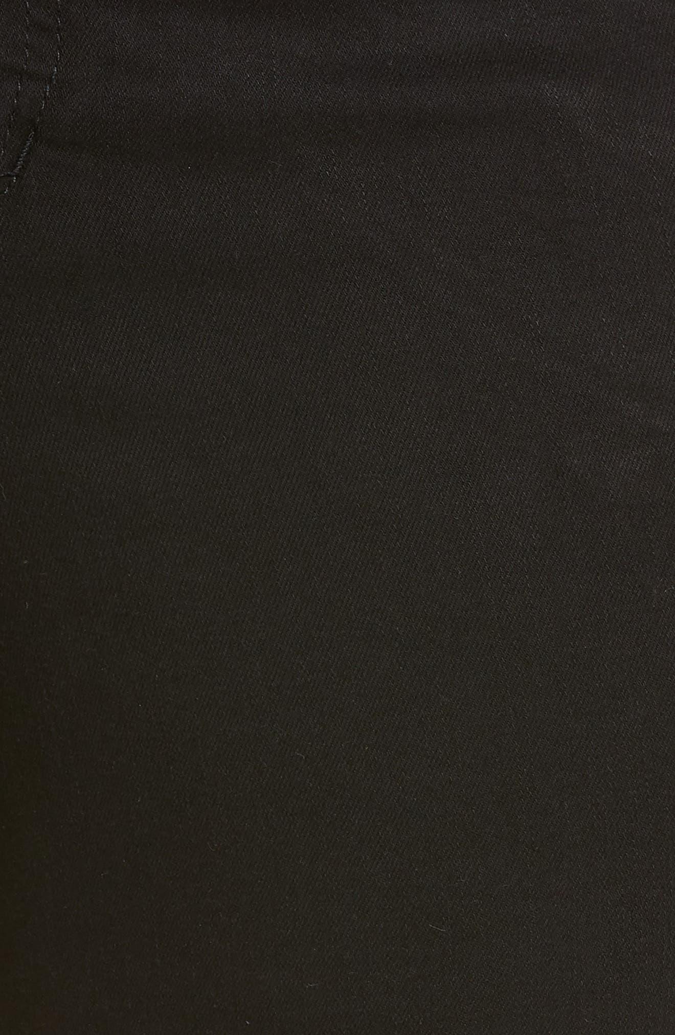 Denim Shorts,                             Alternate thumbnail 6, color,                             001