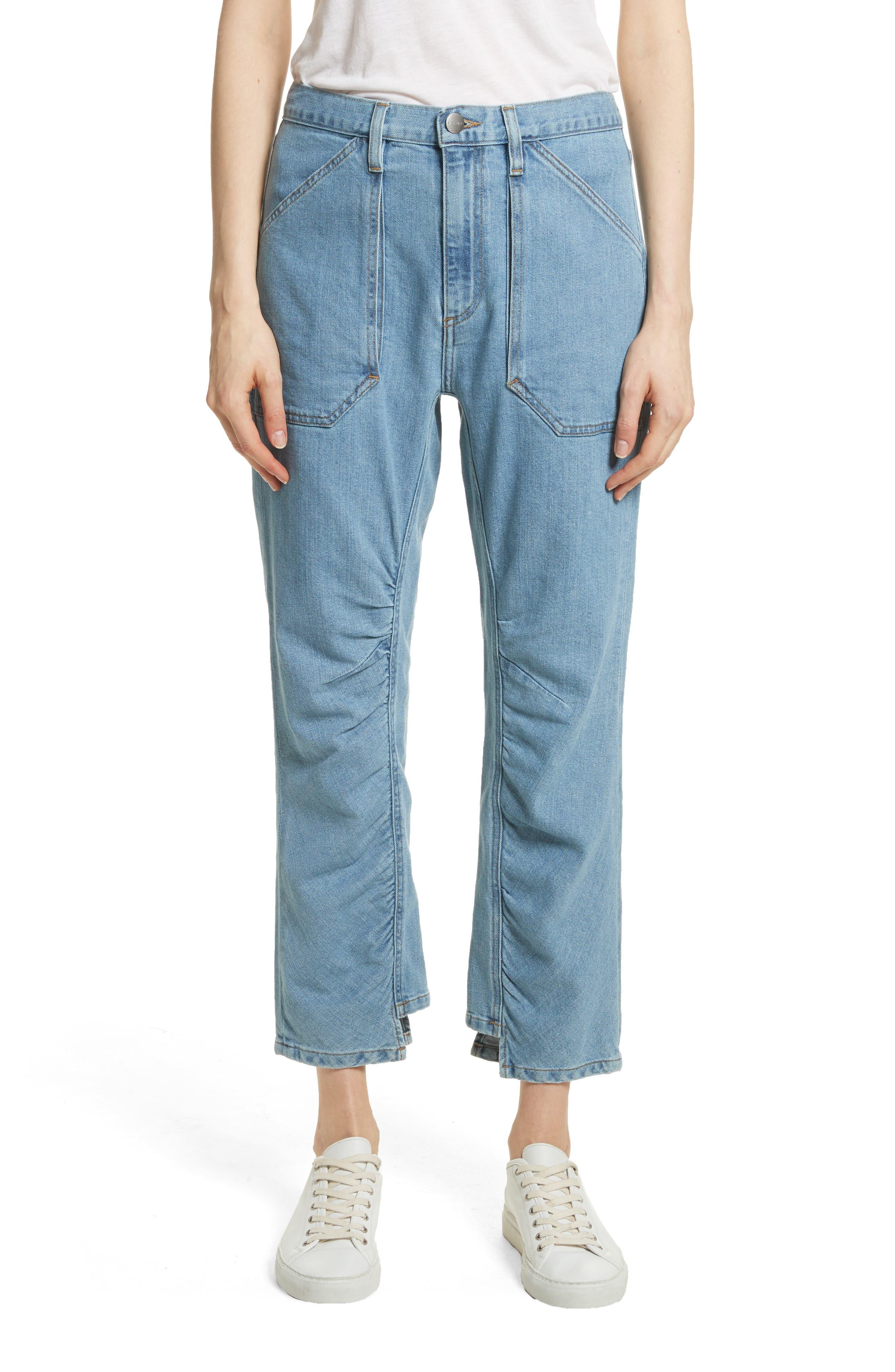 Le Ruche Crop Jeans,                             Main thumbnail 1, color,                             421