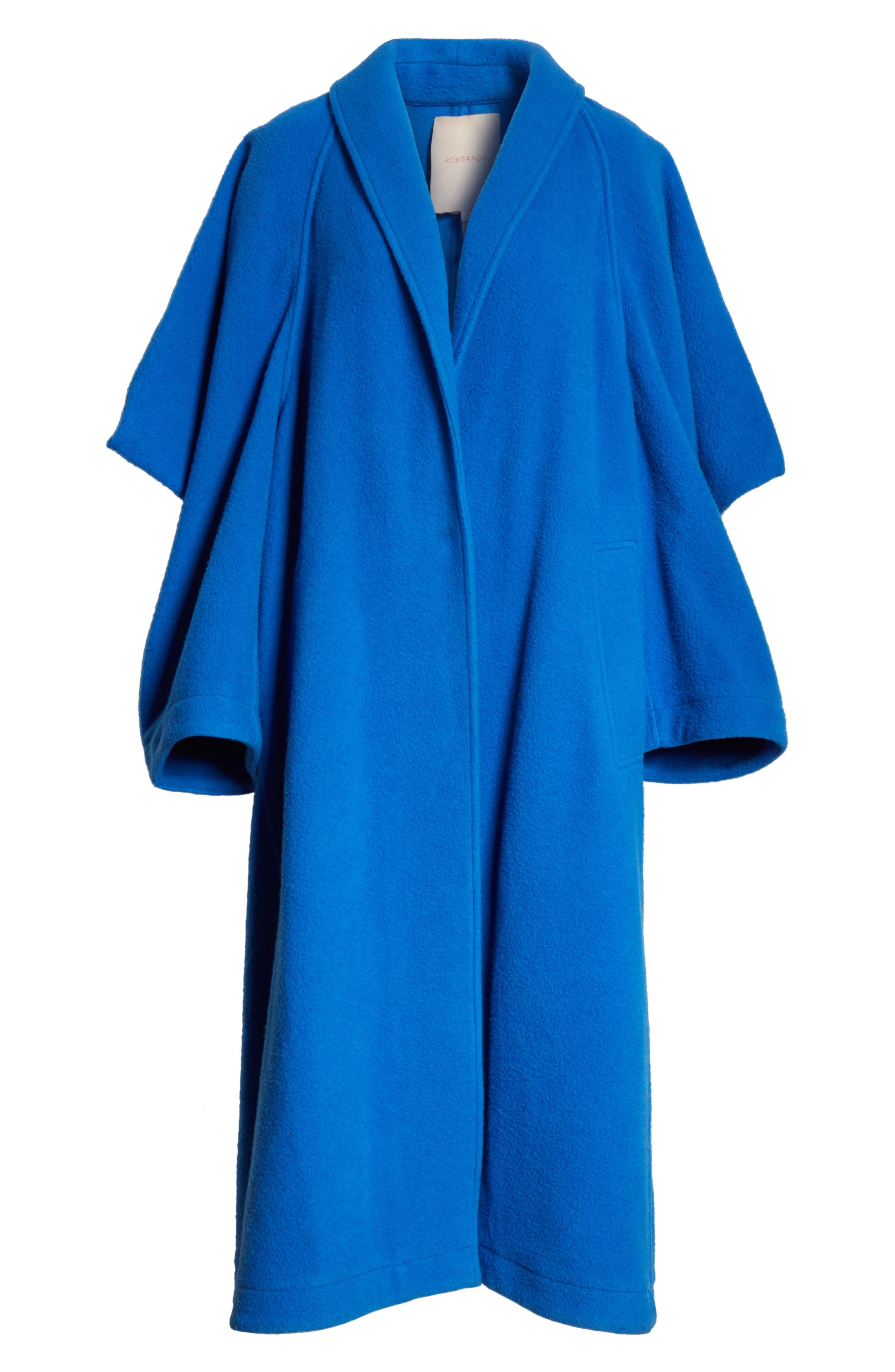 Hotaru Wool & Cashmere Coat,                             Alternate thumbnail 5, color,                             405