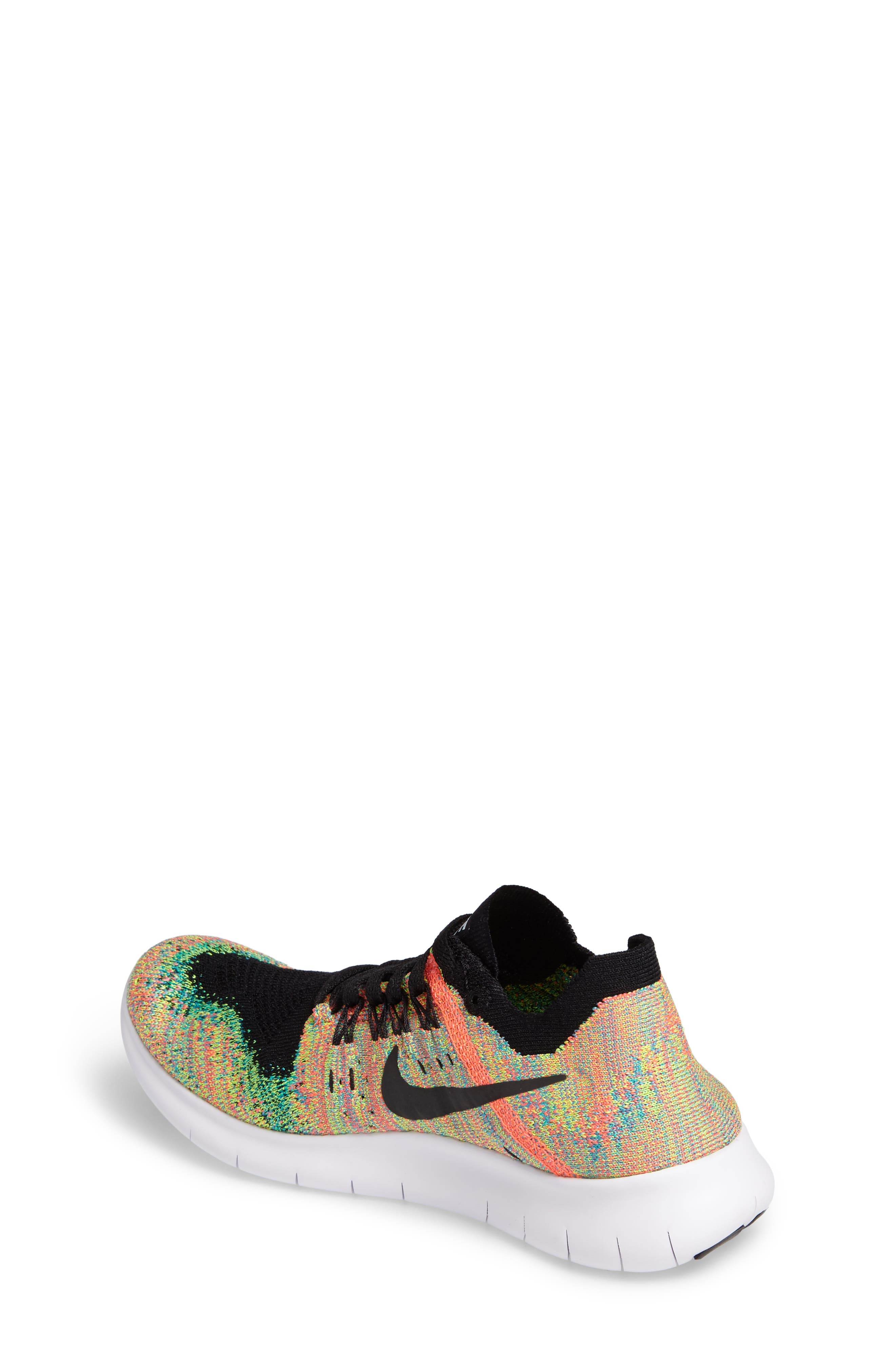 Free RN Flyknit 2017 Running Shoe,                             Alternate thumbnail 2, color,                             001