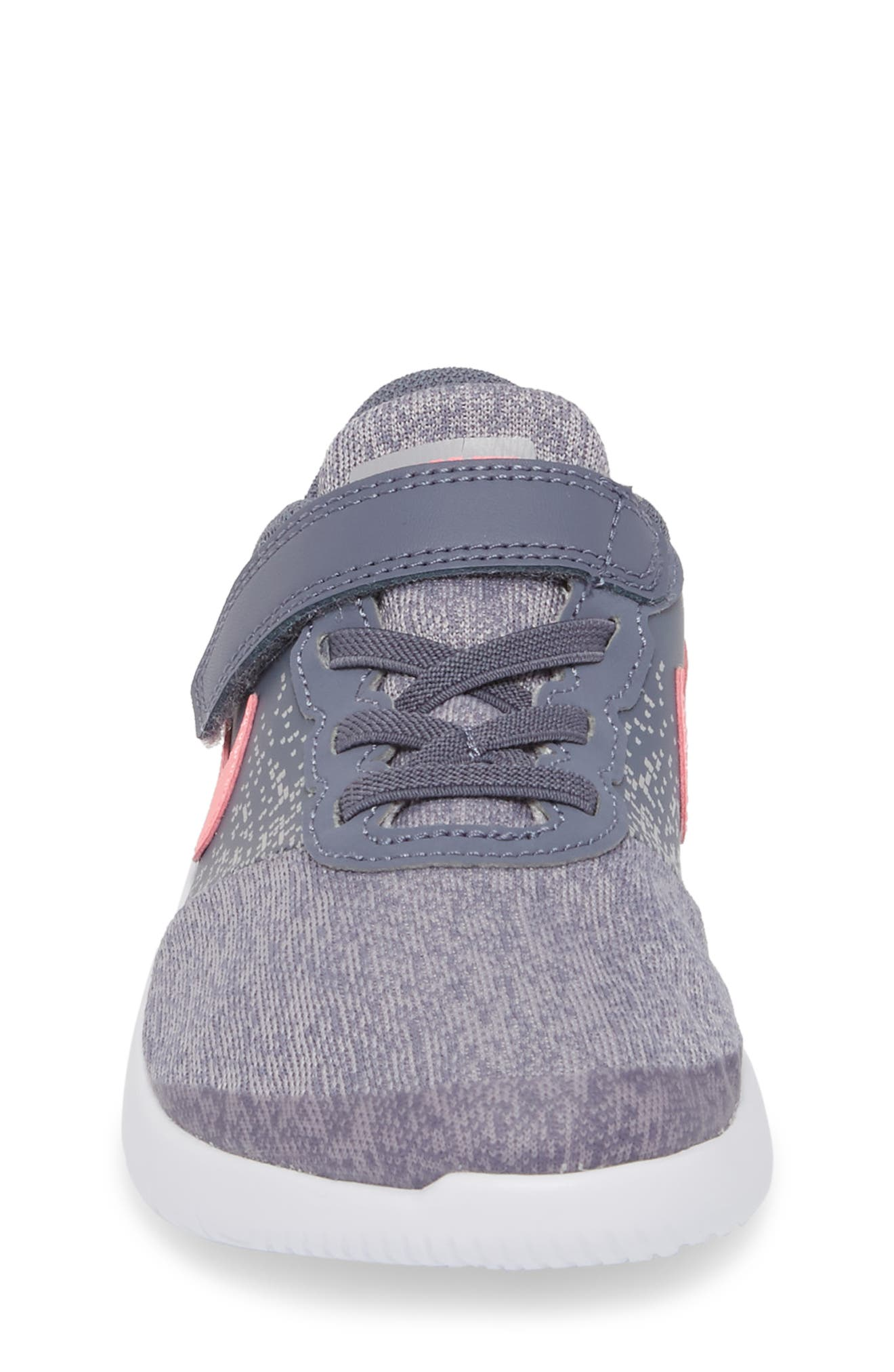 Flex Contact Running Shoe,                             Alternate thumbnail 4, color,                             LIGHT CARBON/ SUNSET PULSE