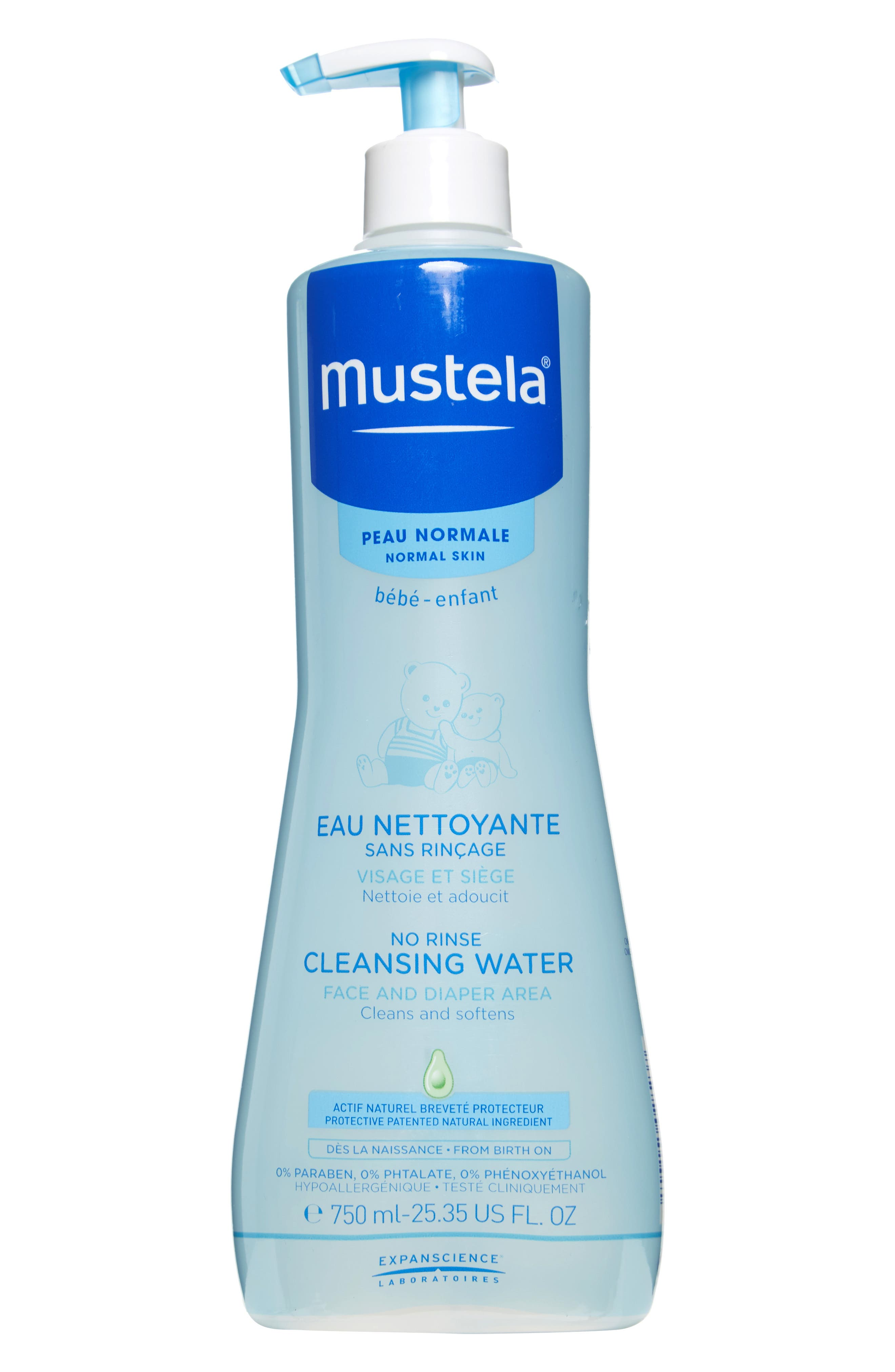 No-Rinse Cleansing Water,                             Main thumbnail 1, color,                             100