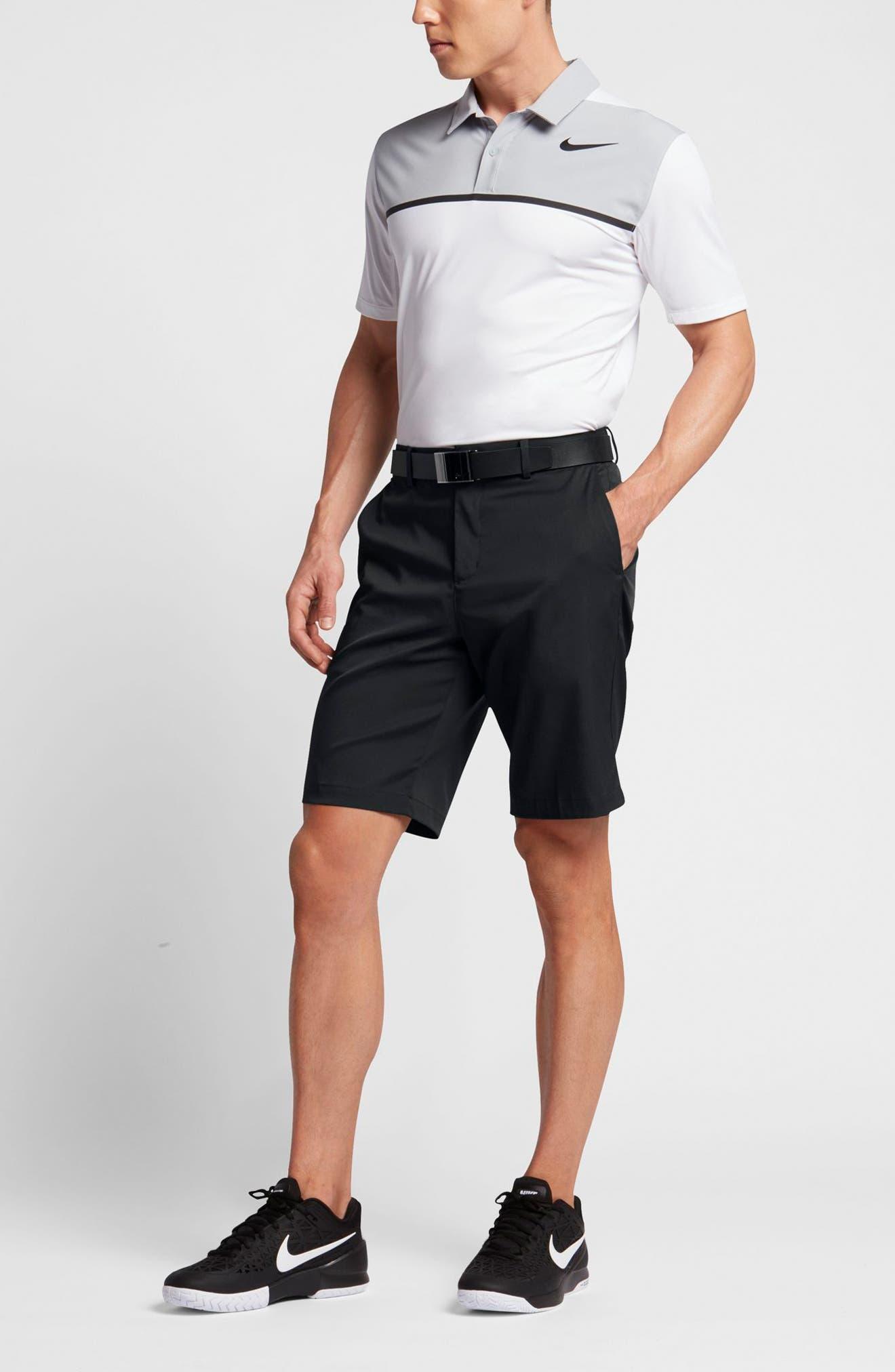 Flat Front Golf Shorts,                             Alternate thumbnail 67, color,