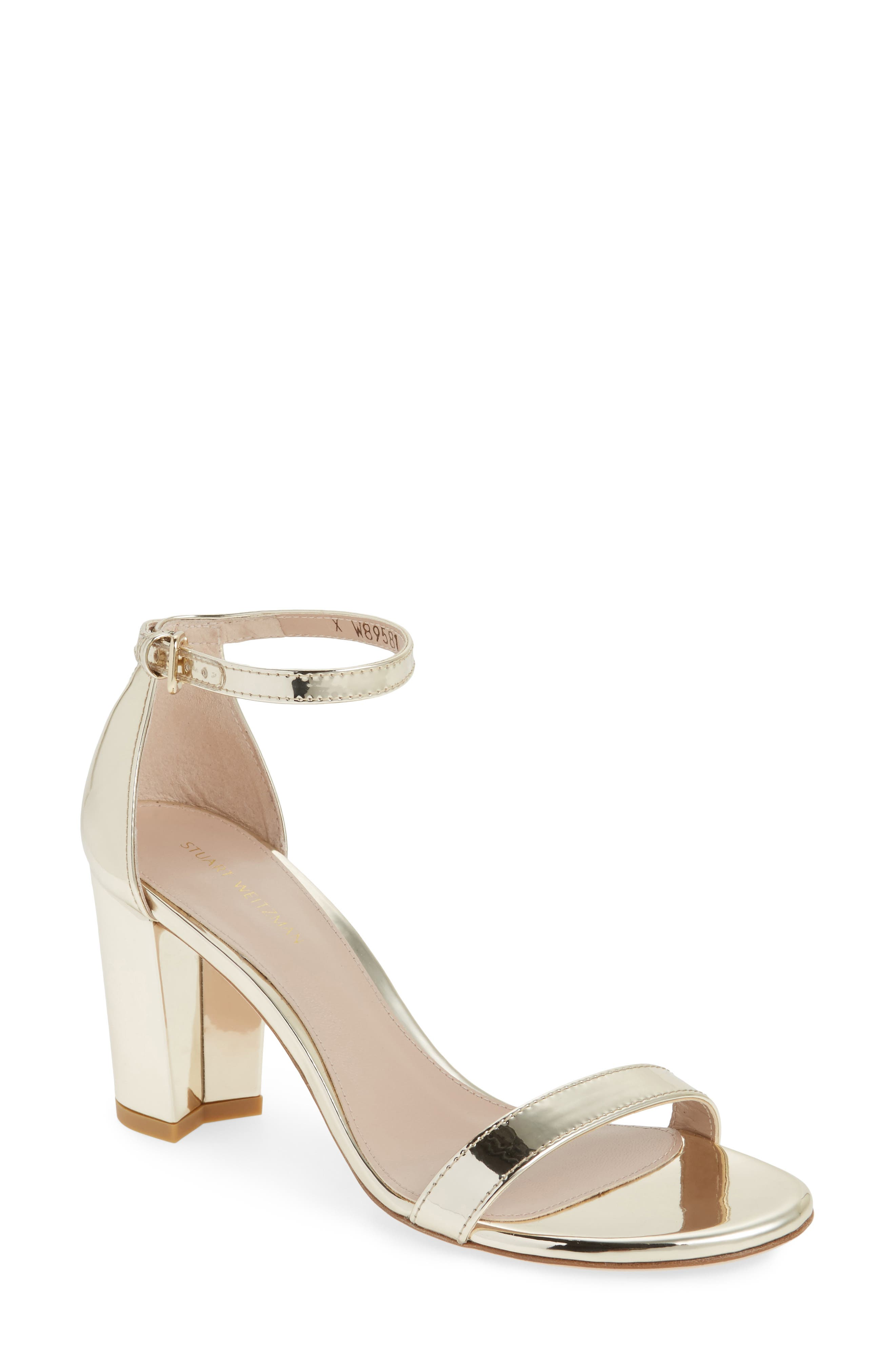 NearlyNude Ankle Strap Sandal,                             Main thumbnail 9, color,