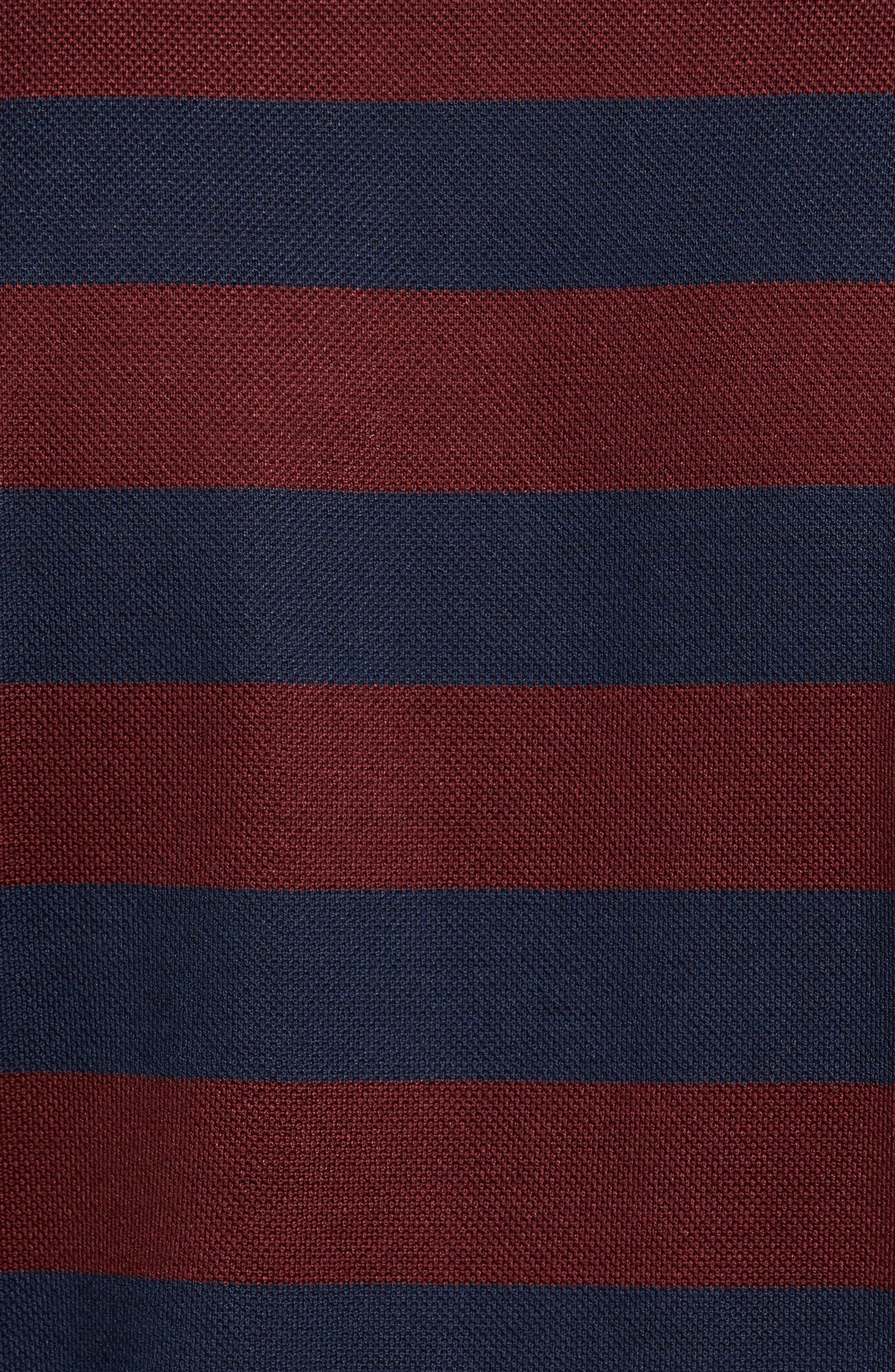 Paul&Shark Striped Polo,                             Alternate thumbnail 5, color,                             400