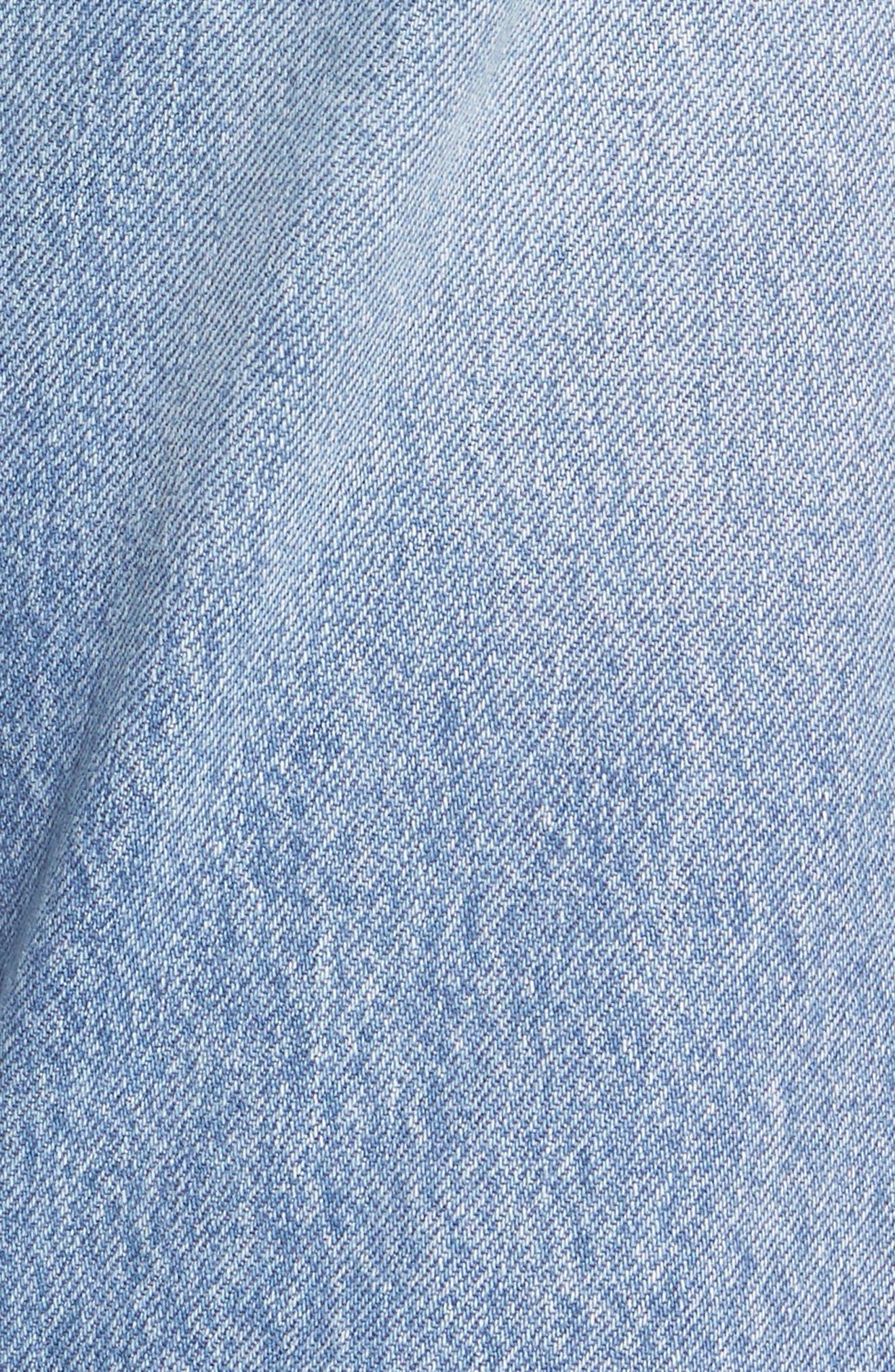 501 Crop Jeans,                             Alternate thumbnail 5, color,                             420