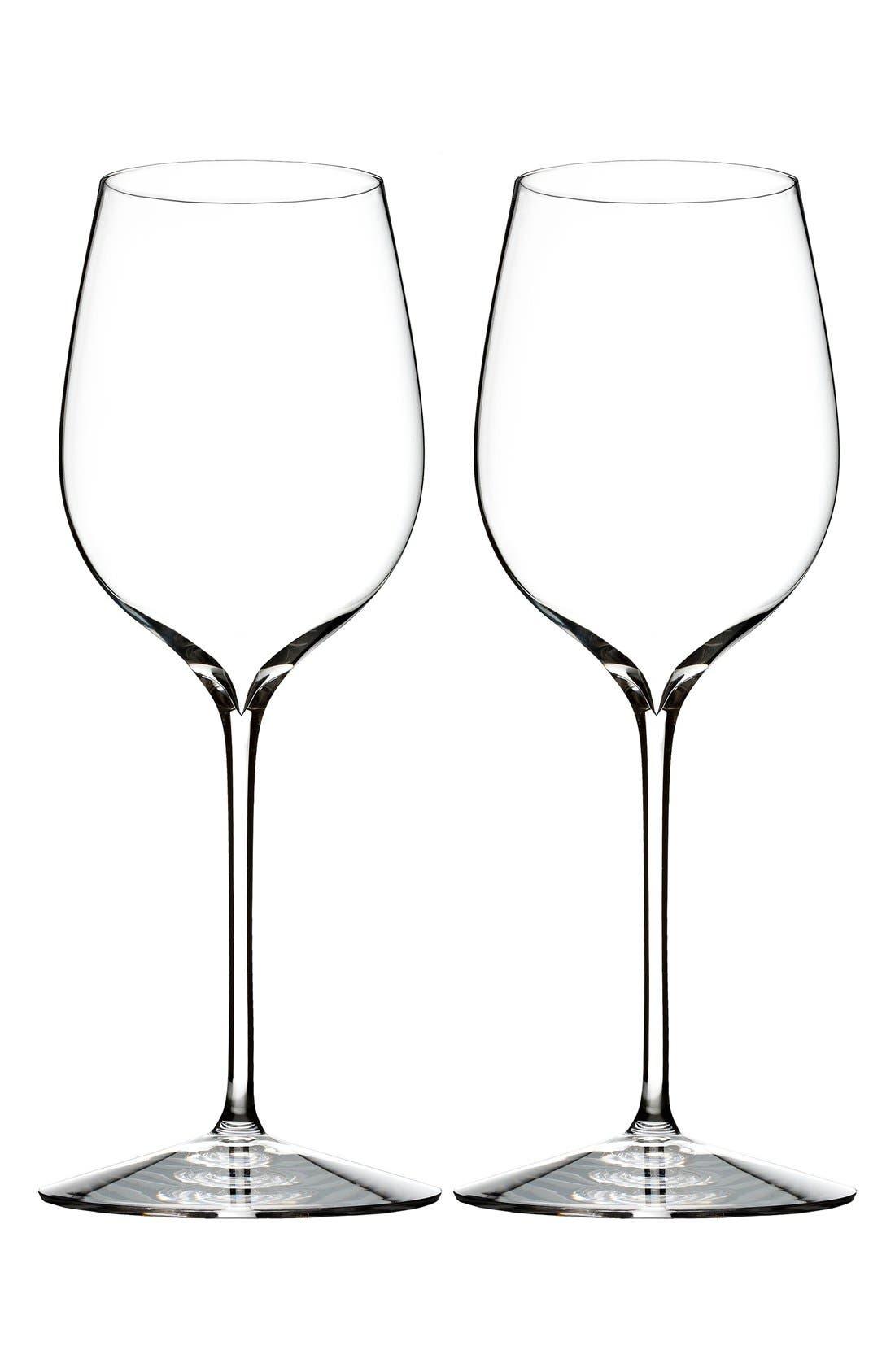 'Elegance' Fine Crystal Pinot Noir Glasses,                             Main thumbnail 1, color,                             100