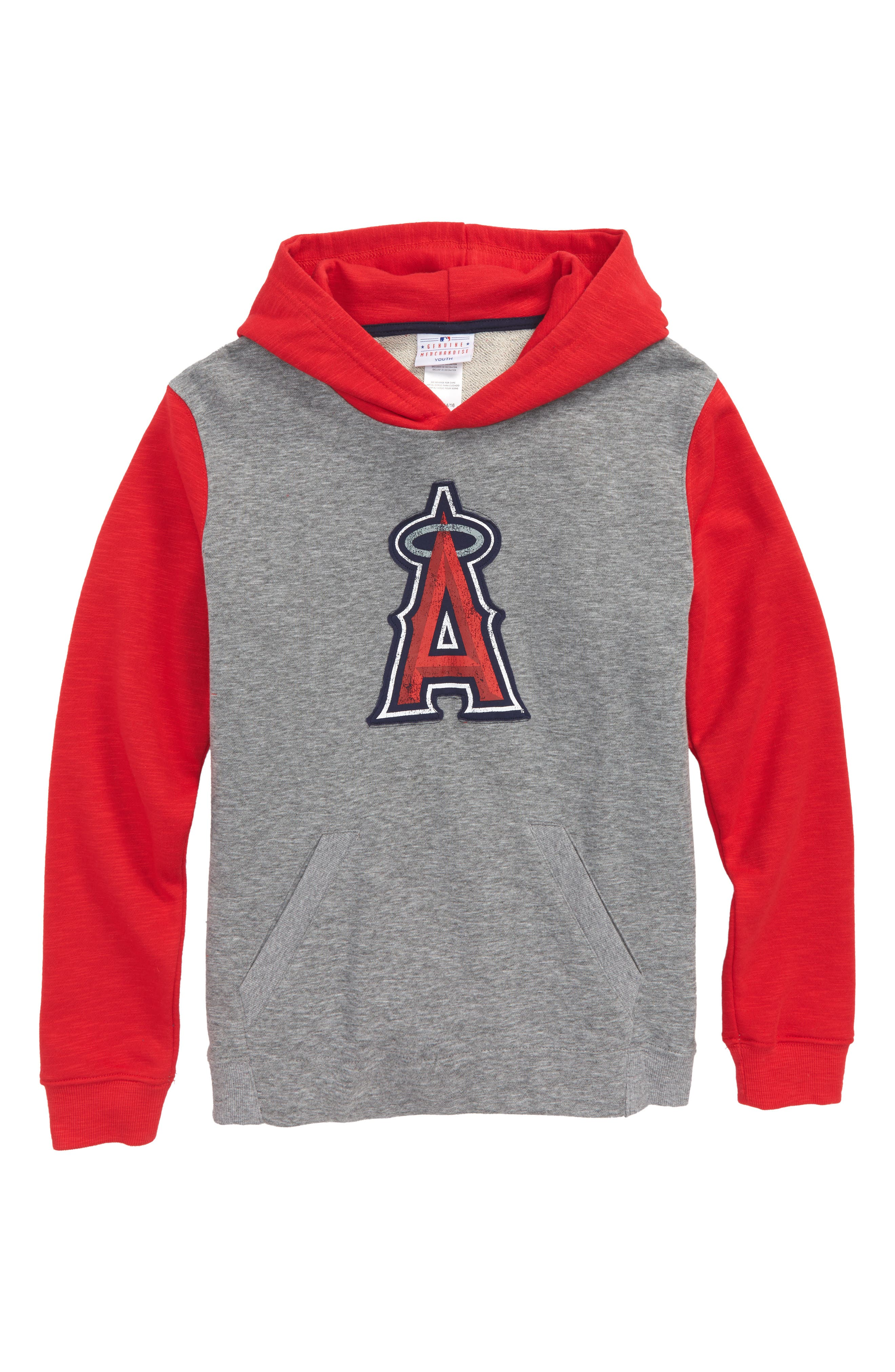 New Beginnings - Anaheim Angels Pullover Hoodie,                             Main thumbnail 1, color,                             020