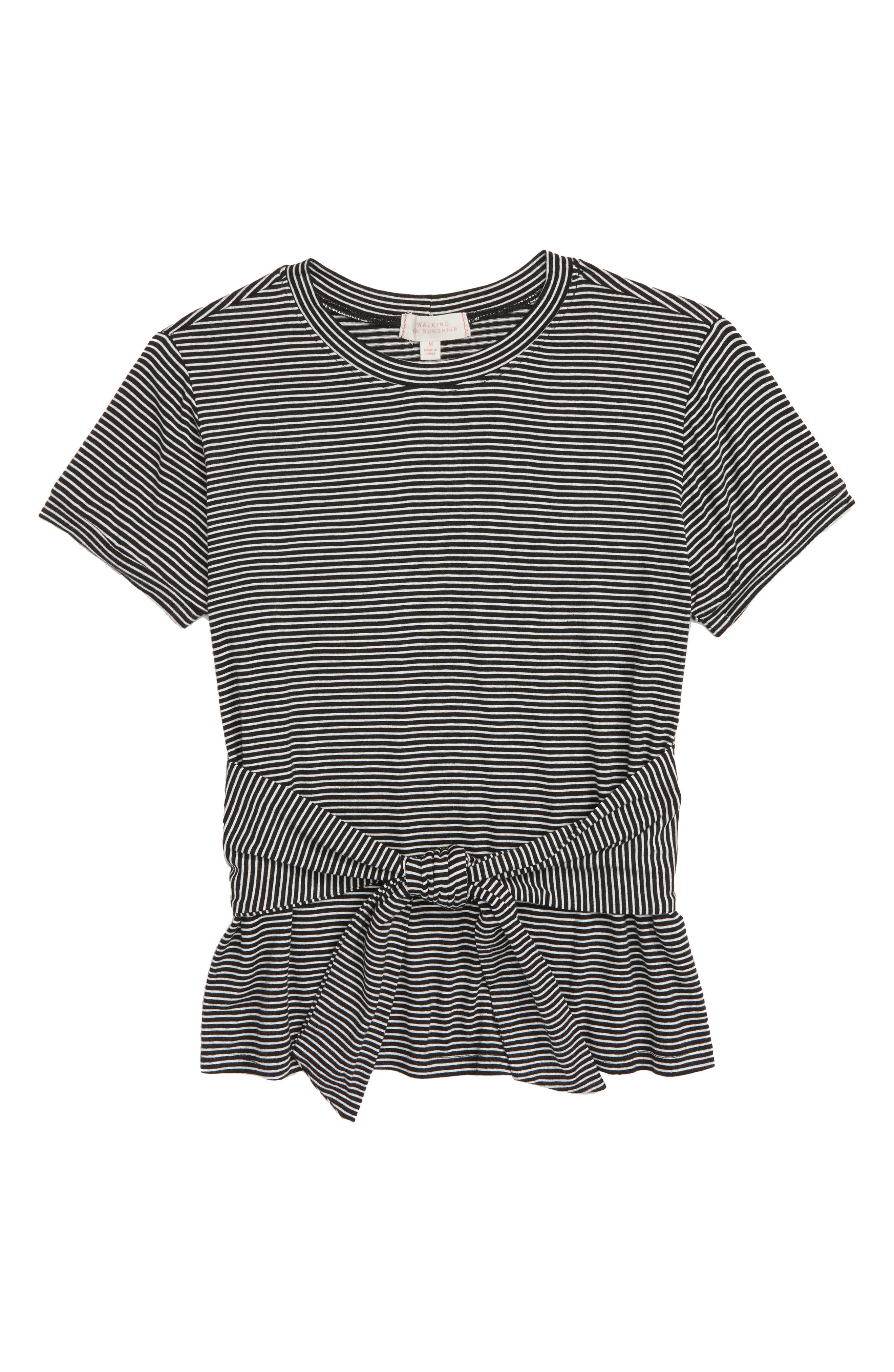 Knotted Tee,                         Main,                         color, 001