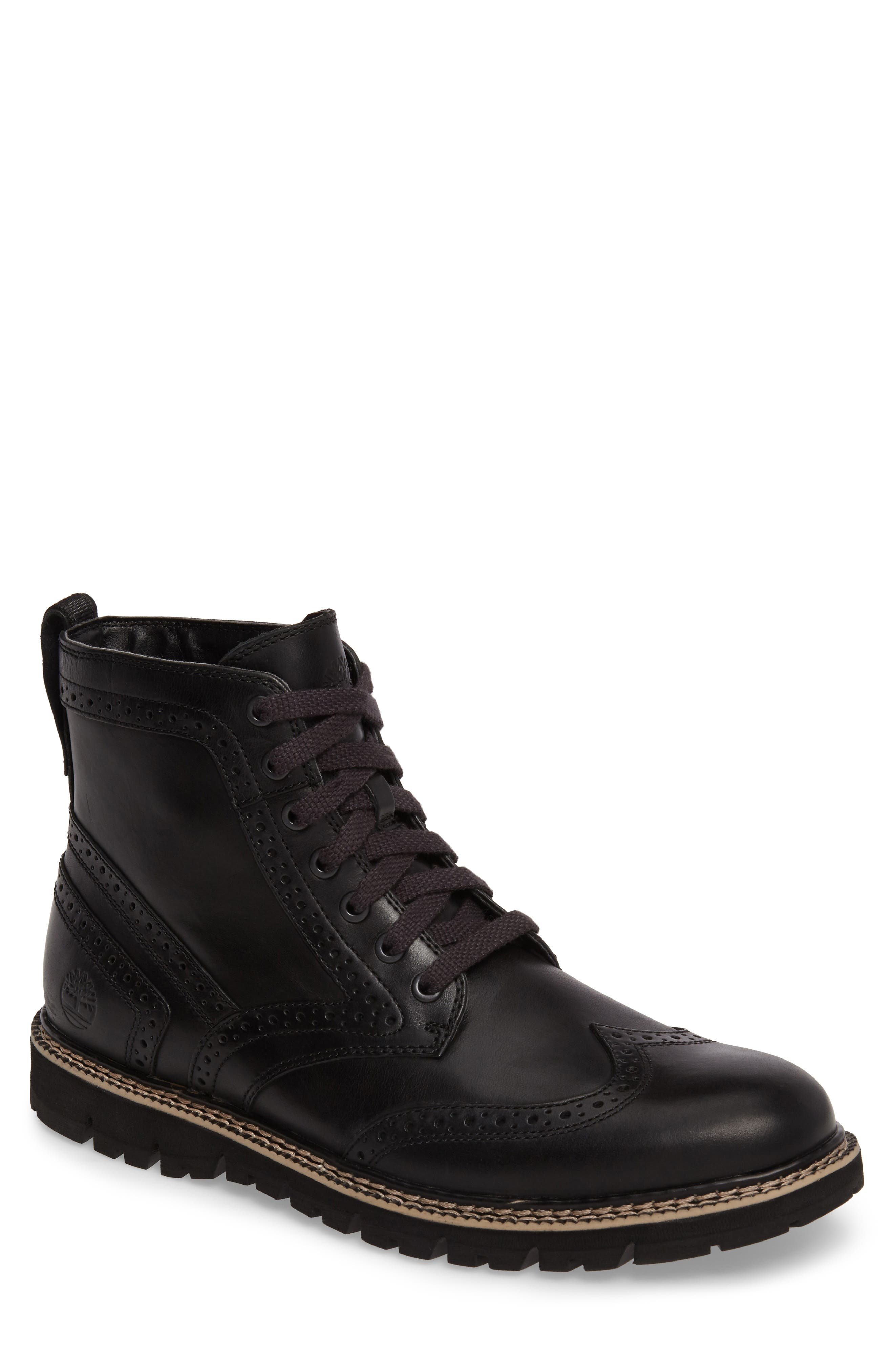 Britton Hill Wingtip Boot,                             Main thumbnail 1, color,